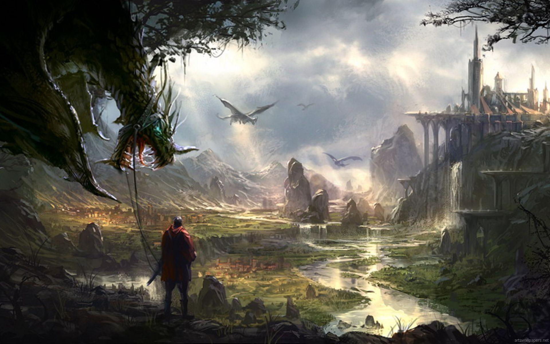 Res: 1920x1200, Fantasy Wallpaper 9