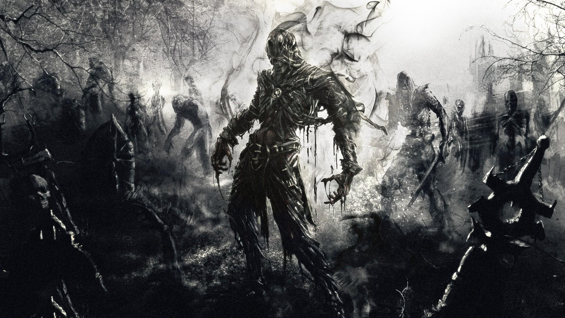 Res: 1920x1080,  Wallpaper zombies, fantasy, art