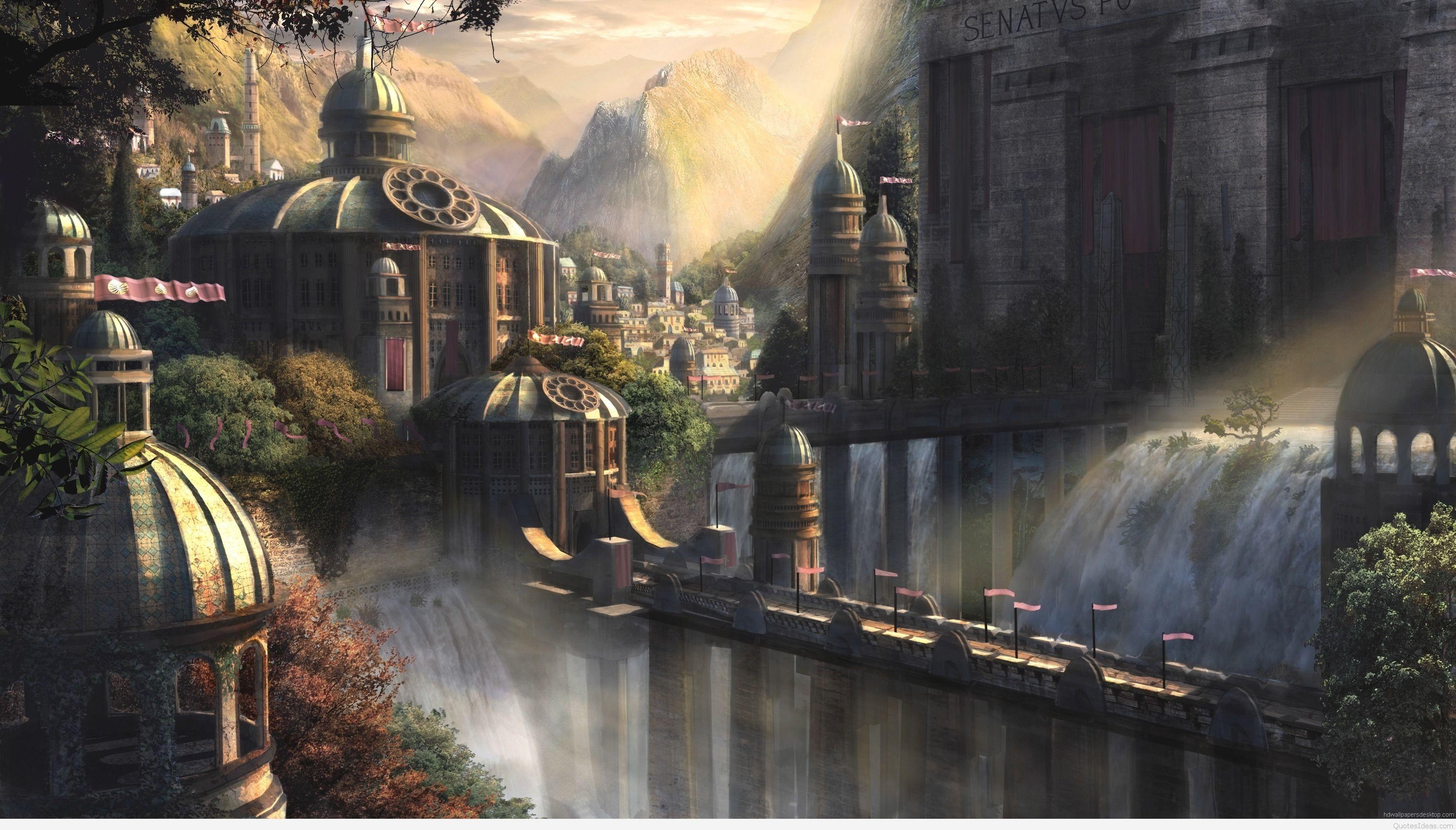 Res: 3500x1996, wallpapers-hd-widescreen-art-wallpapers-fantasy-art-wallpaper-