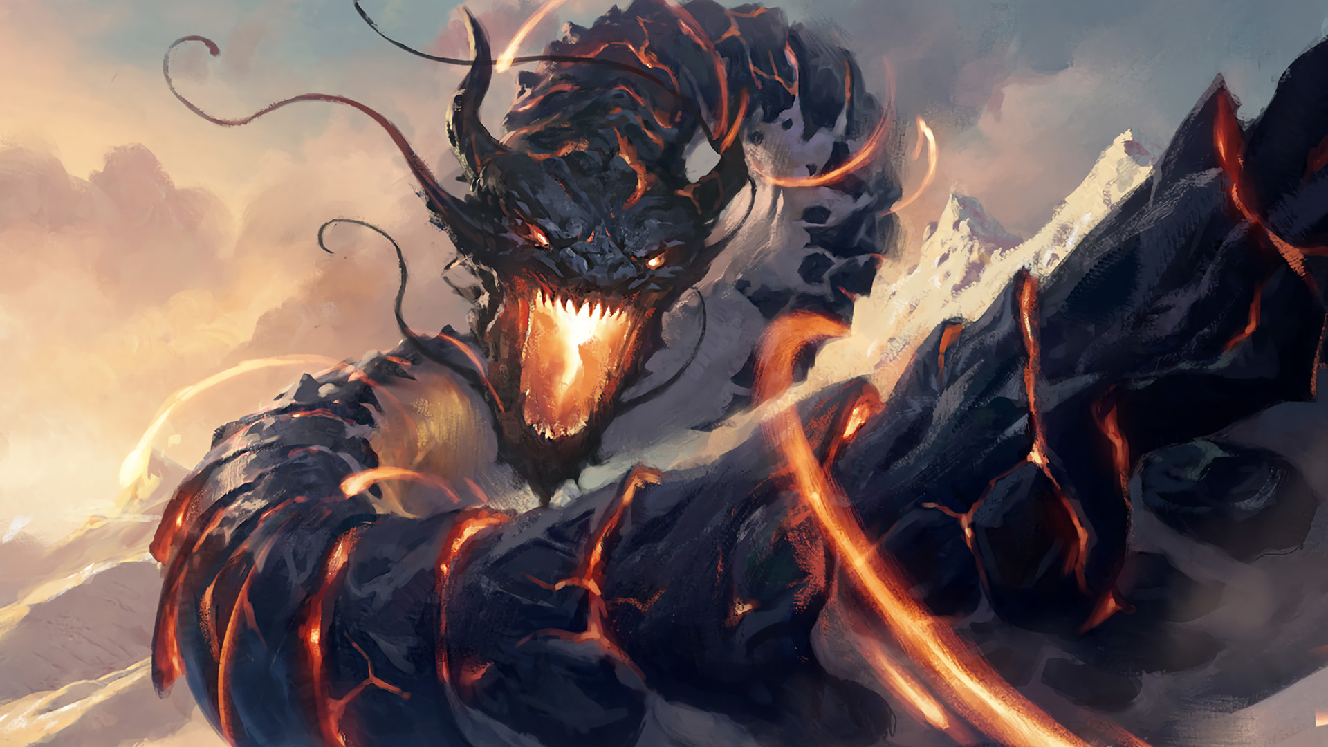 Res: 1920x1080, Dragon Fantasy Art