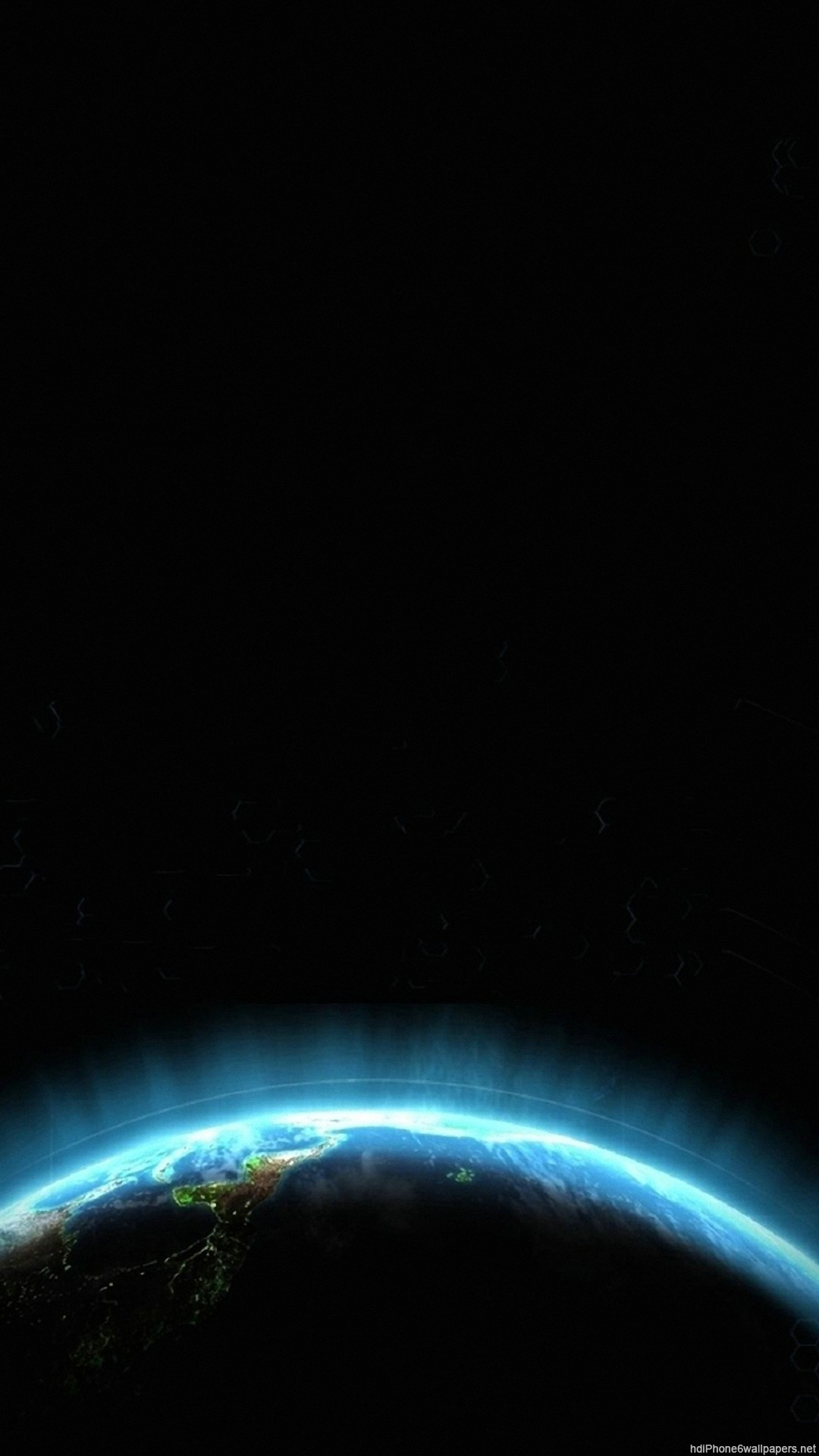 Res: 1080x1920,  circle space planet blue iPhone 6 wallpapers HD - 6 Plus  backgrounds