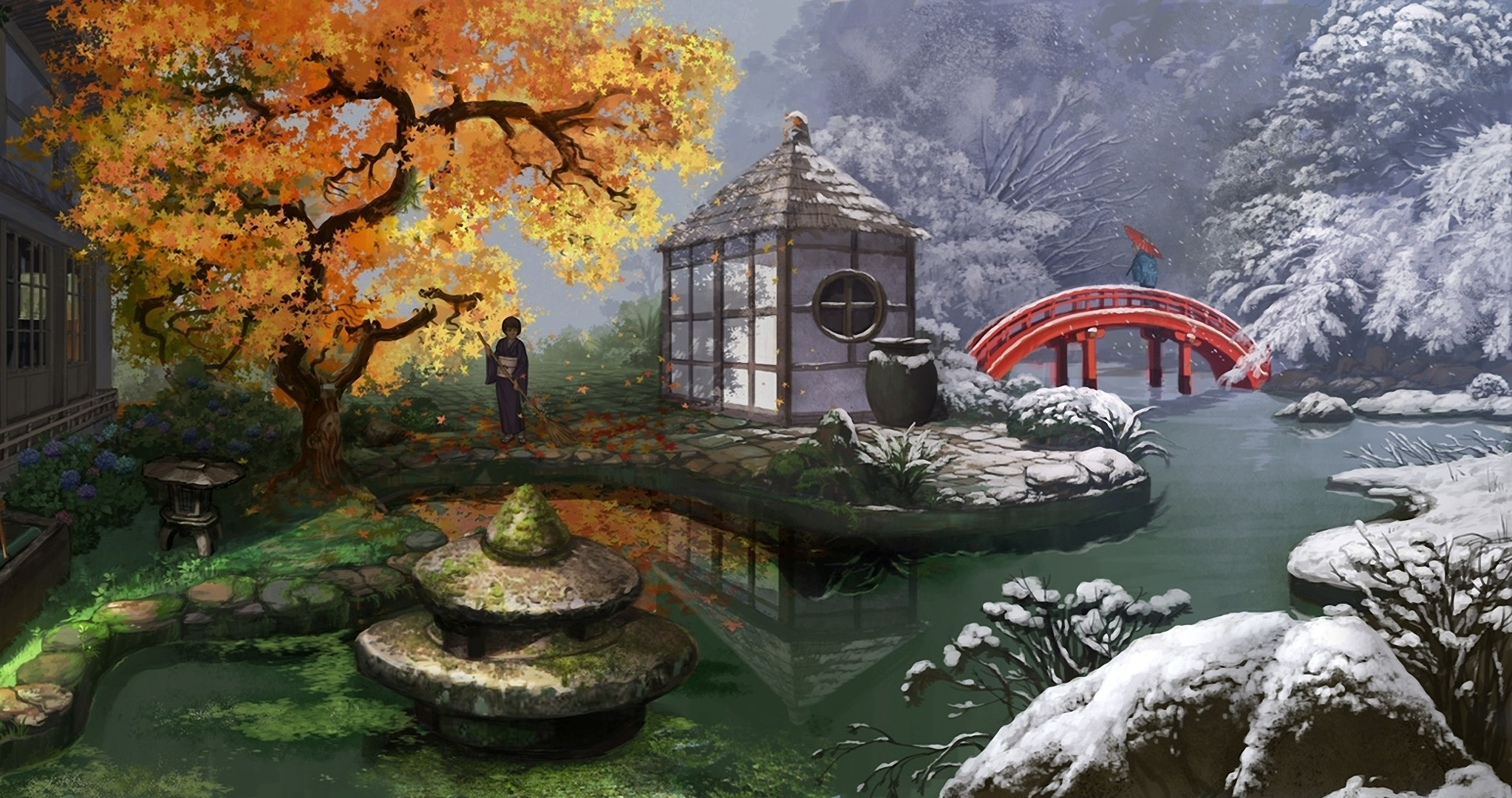 Res: 2046x1080, Oriental Wallpapers 18 - 2046 X 1080