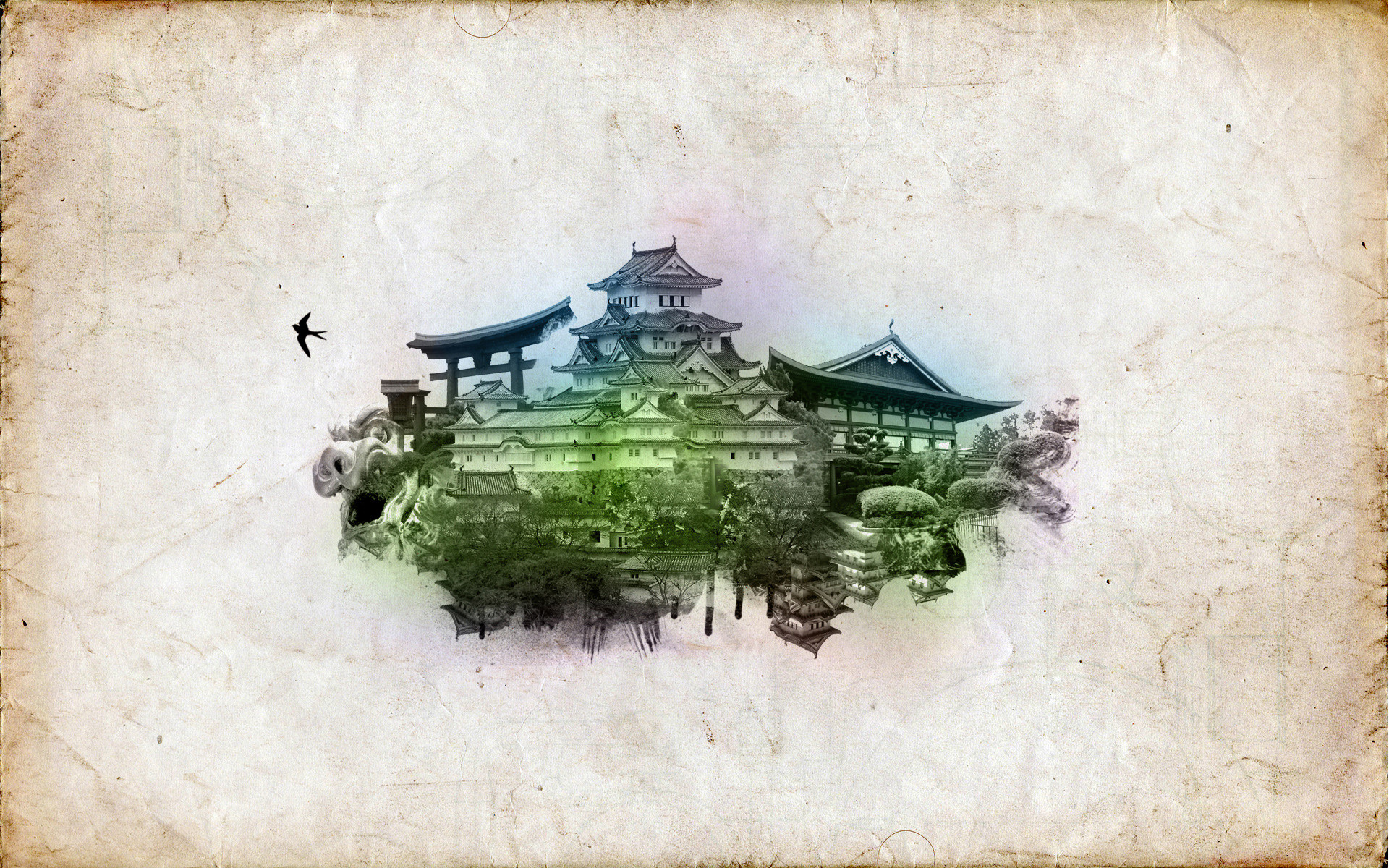 Res: 1920x1200, Oriental Wallpapers 11 - 1920 X 1200