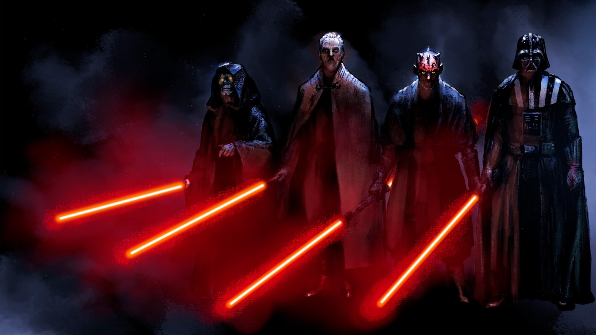 Res: 1920x1080, Filme - Star Wars Darth Vader Darth Maul Sith (Star Wars) Wallpaper