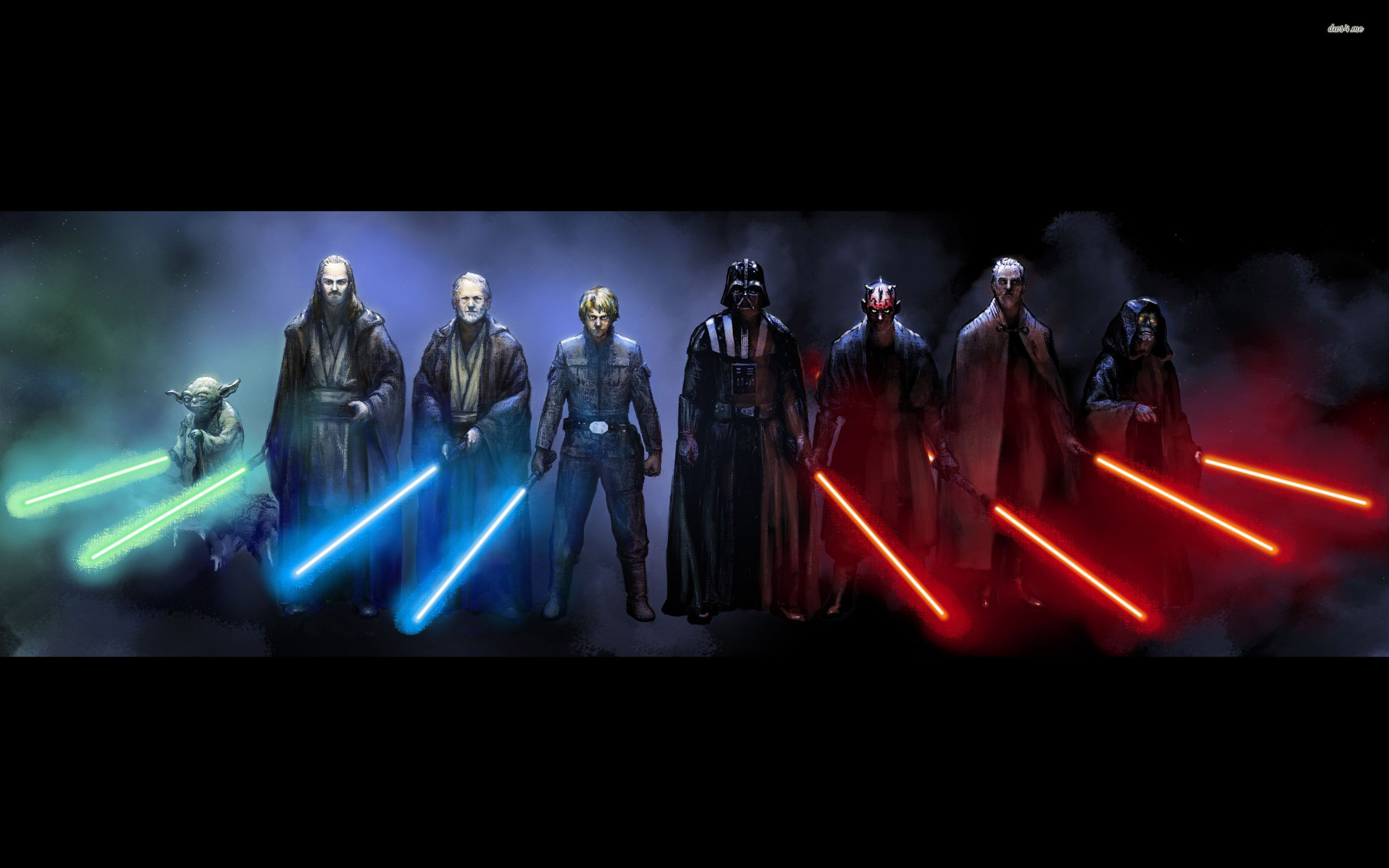 Res: 2560x1600, ... Jedi and Sith - Star Wars wallpaper  ...