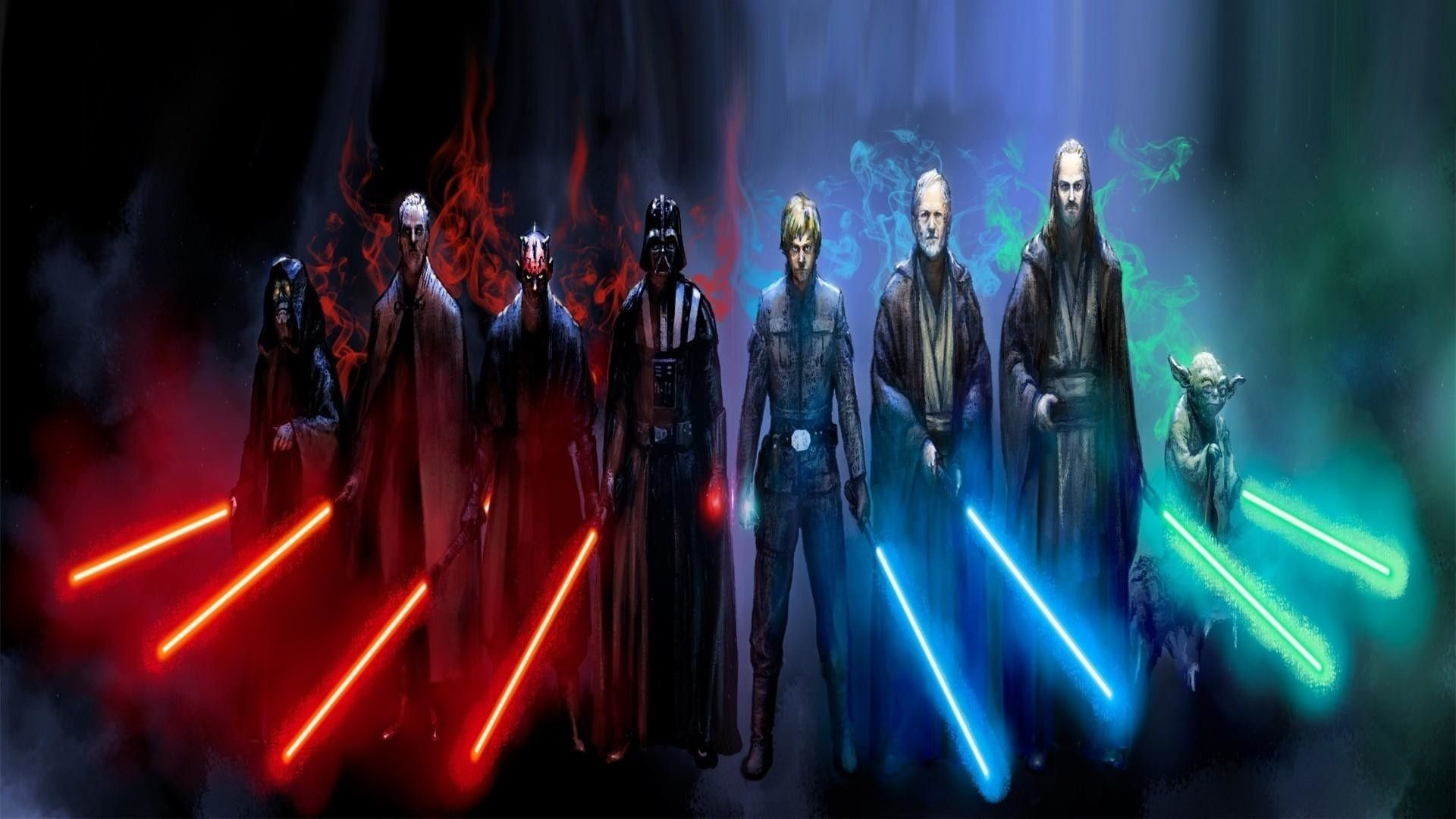 Res: 1920x1080, 10 Best Jedi And Sith Wallpaper FULL HD 1920×1080 For PC Background