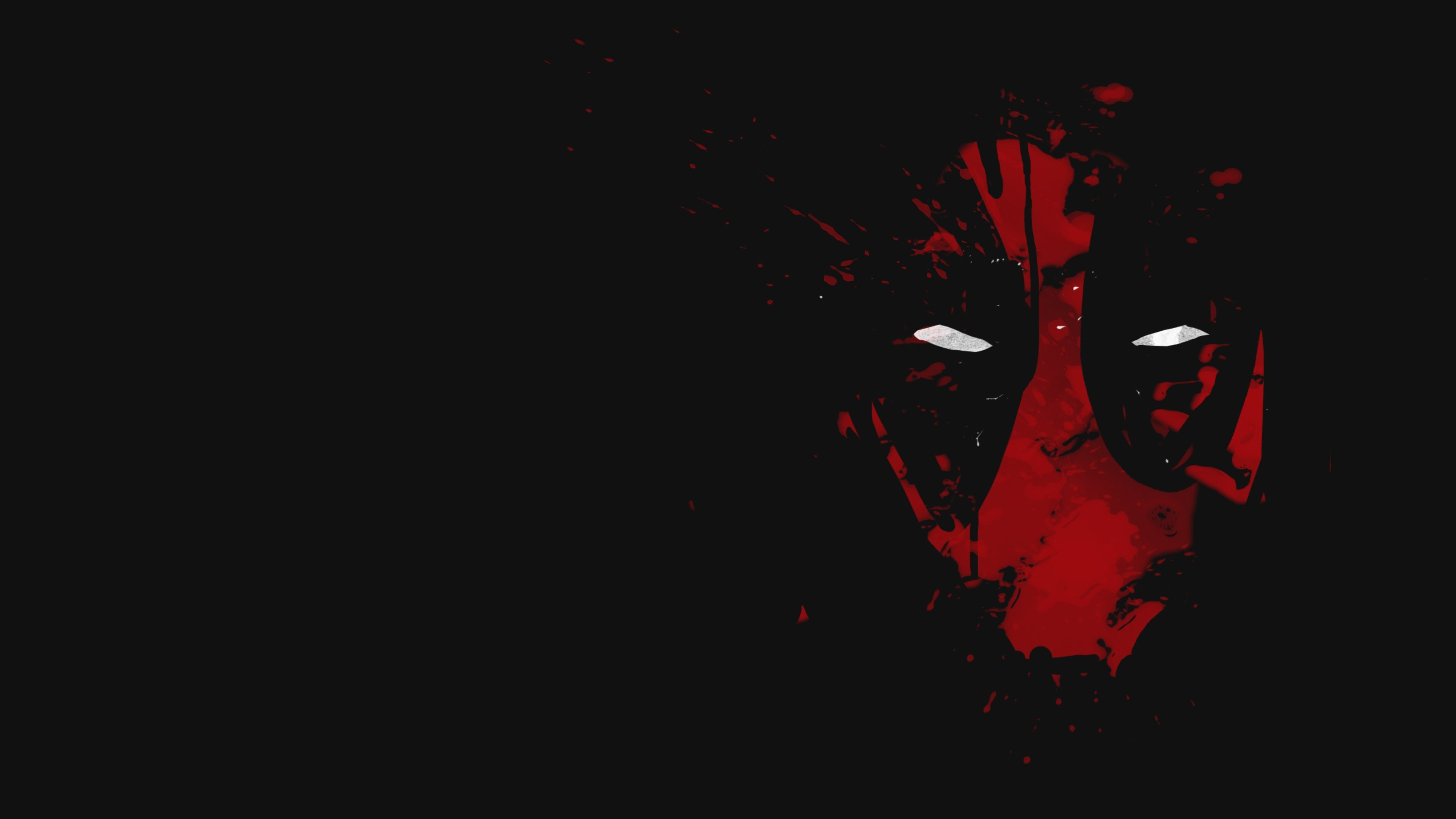 Res: 3840x2160, Deadpool Abstract 4k