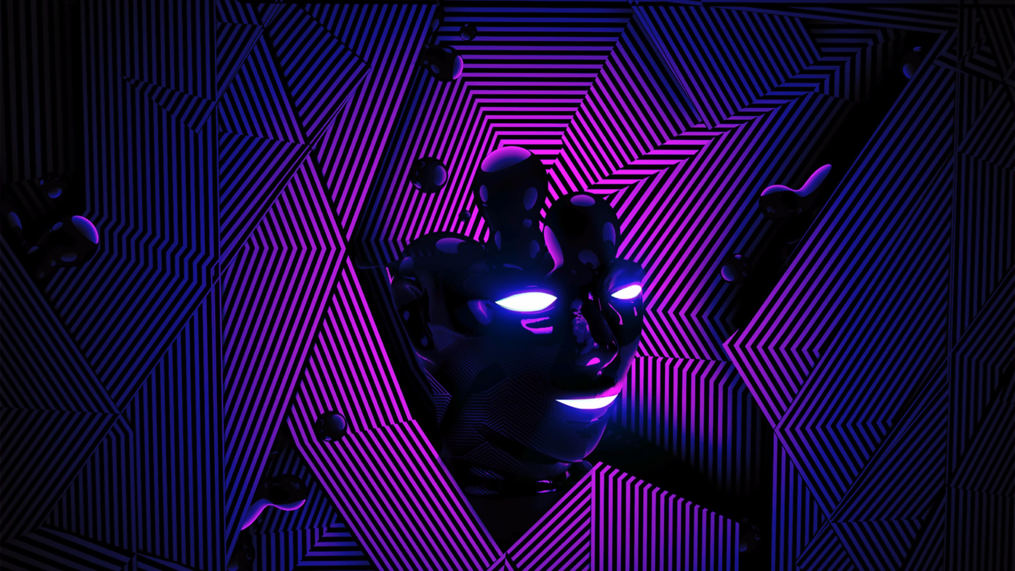 Res: 3840x2160, 4K Purple wallpapers