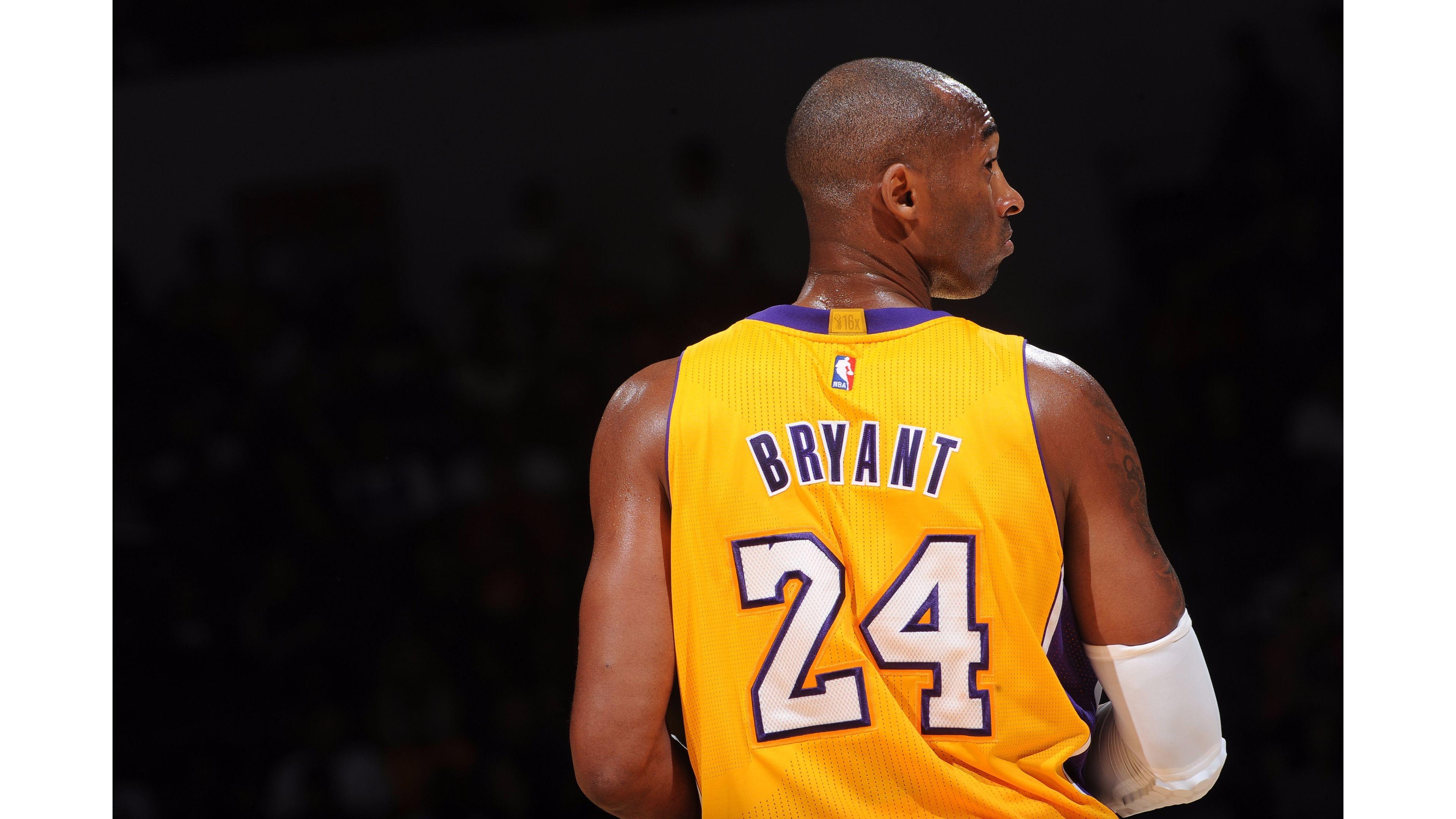 Res: 3840x2160, Lakers #24 Kobe Bryant 4K Wallpaper