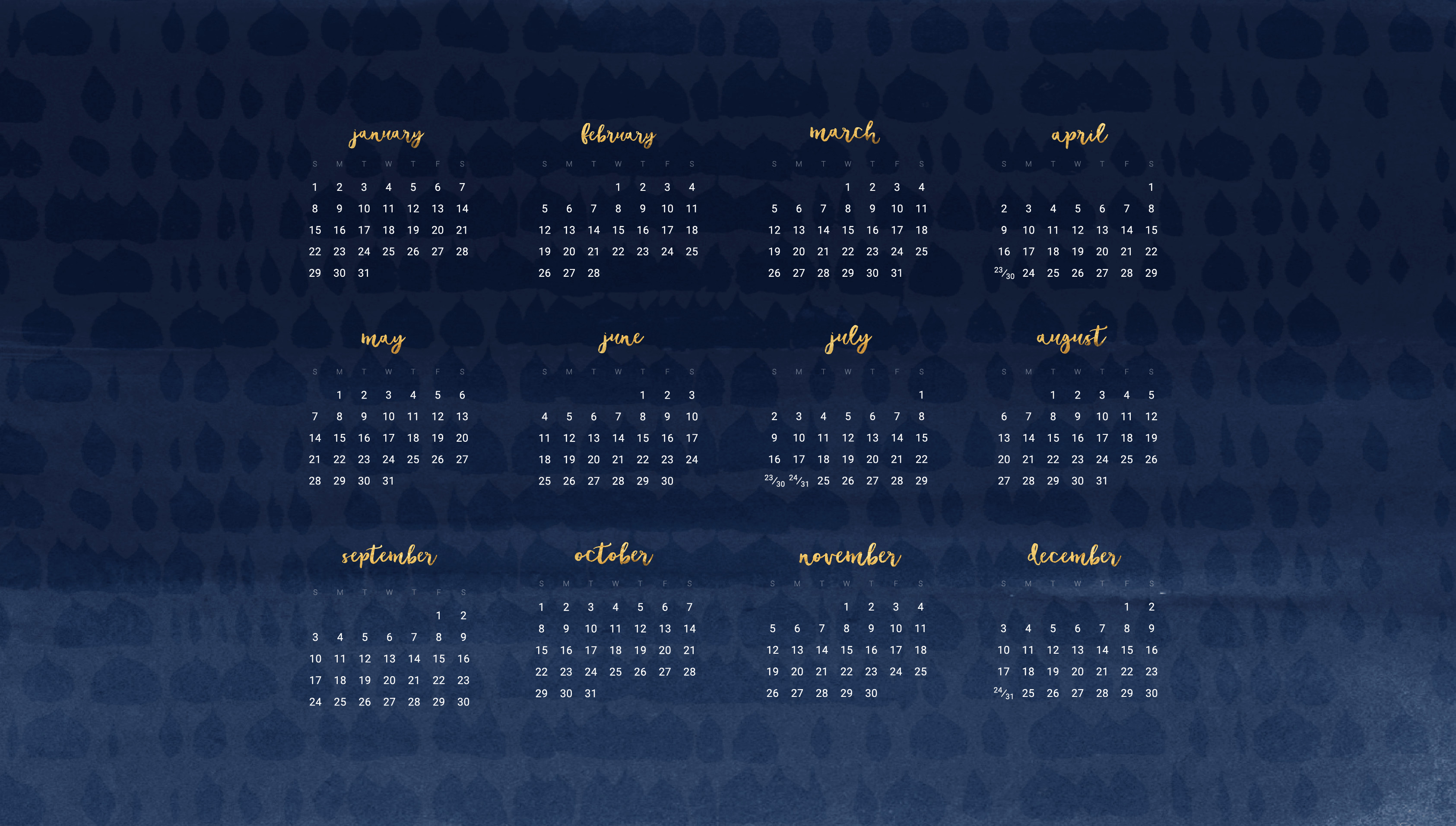 Res: 3371x1913, Audrey from Oh So Lovely Blog shares 16+ FREE 2017 desktop wallpaper  calendars. There are lots of colors and patterns to choose from. Download  yours today!