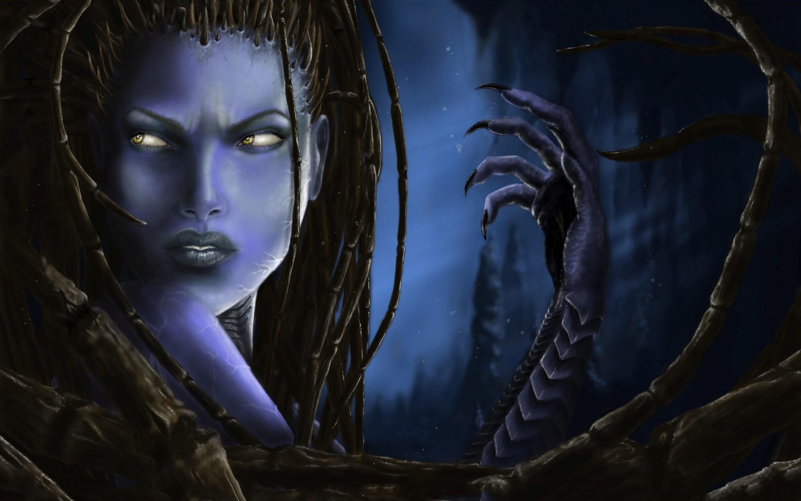 Res: 2560x1600, sarah kerrigan - queen of blades