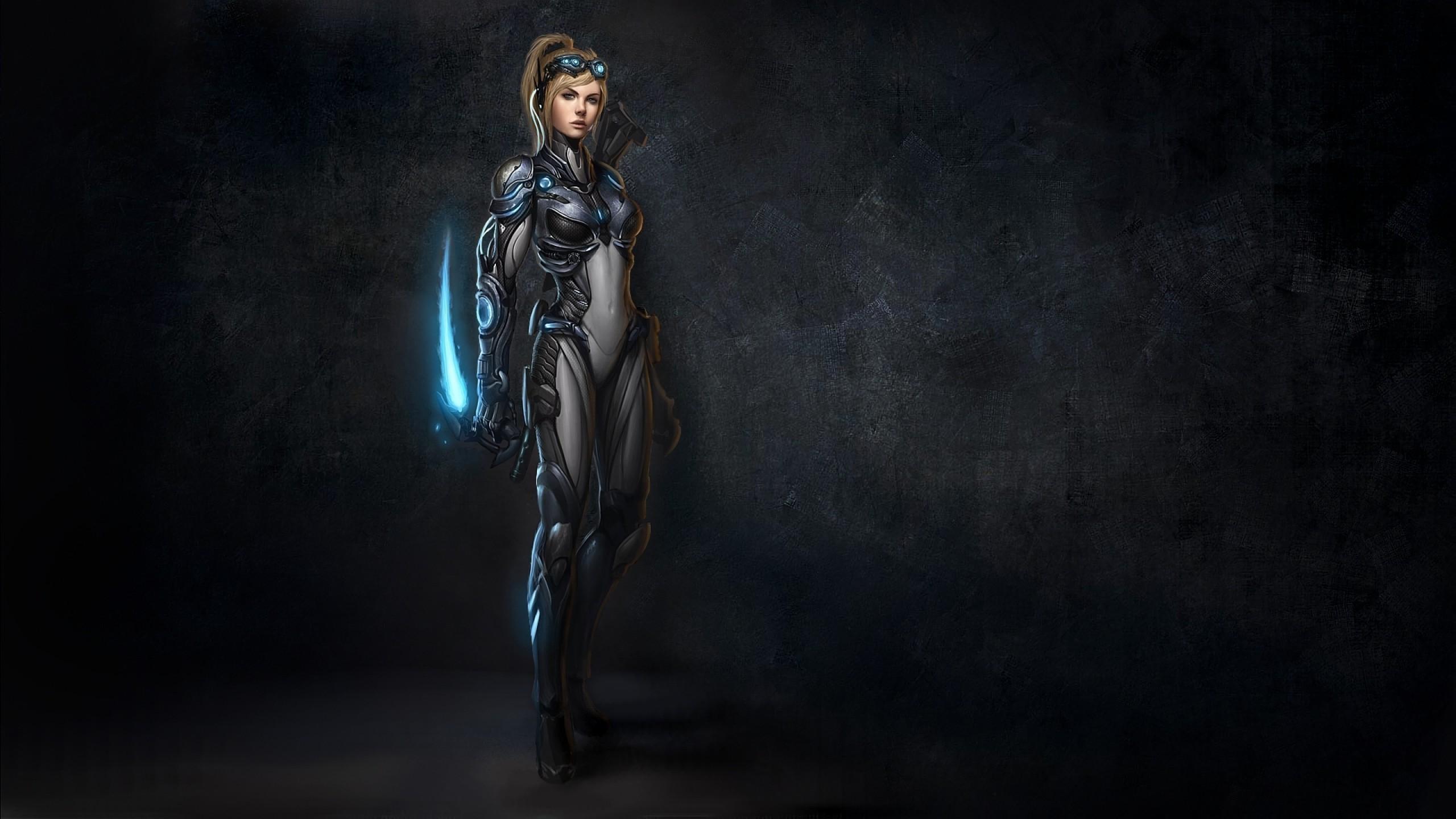 Res: 2560x1440, Nova Tera - StarCraft II wallpaper