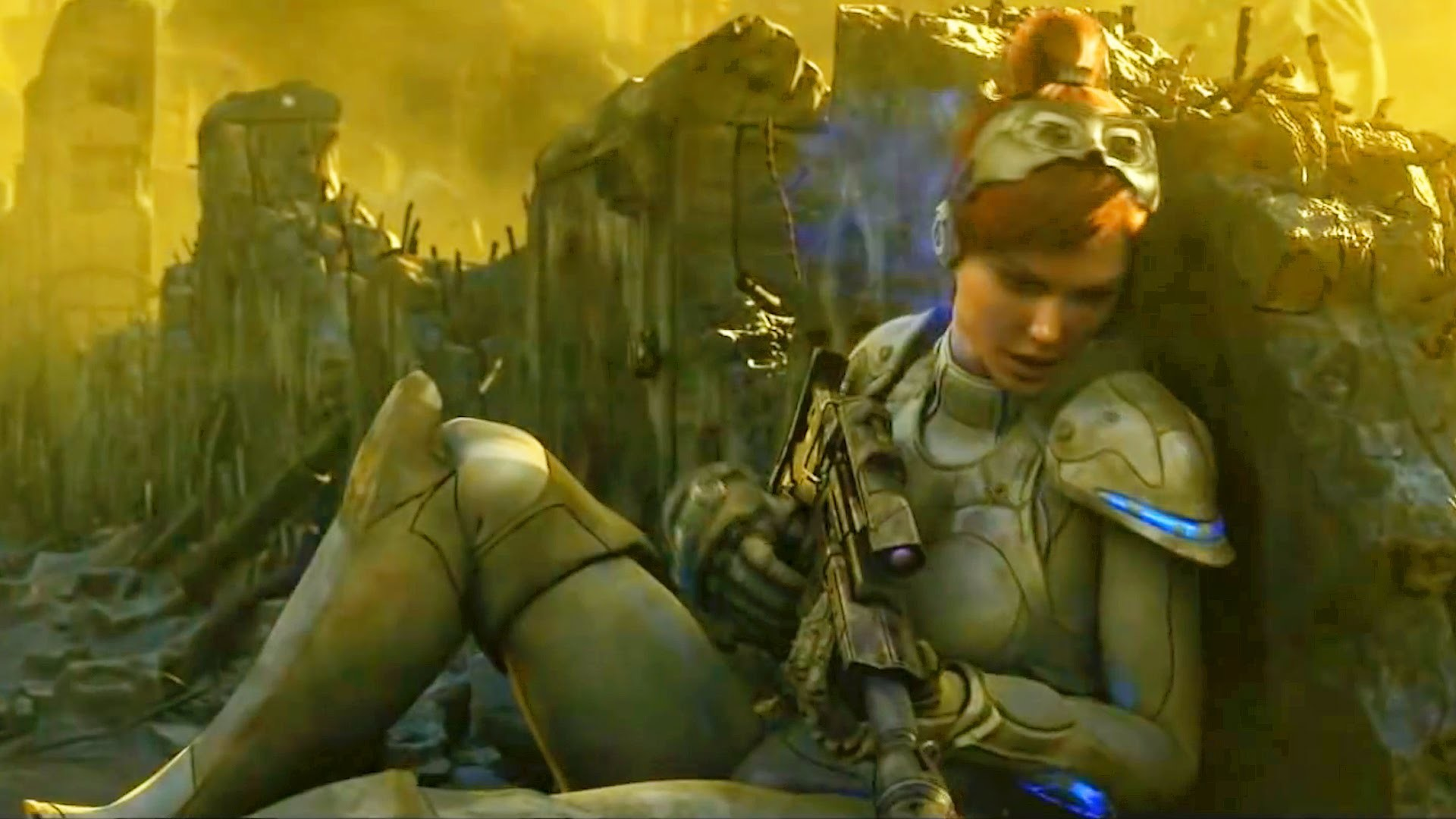 Res: 1920x1080, Sarah Kerrigan is Betrayed. Cinematic. Starcraft 2: Wing of Liberty.  Trailer (Reformatted 16:9) - YouTube