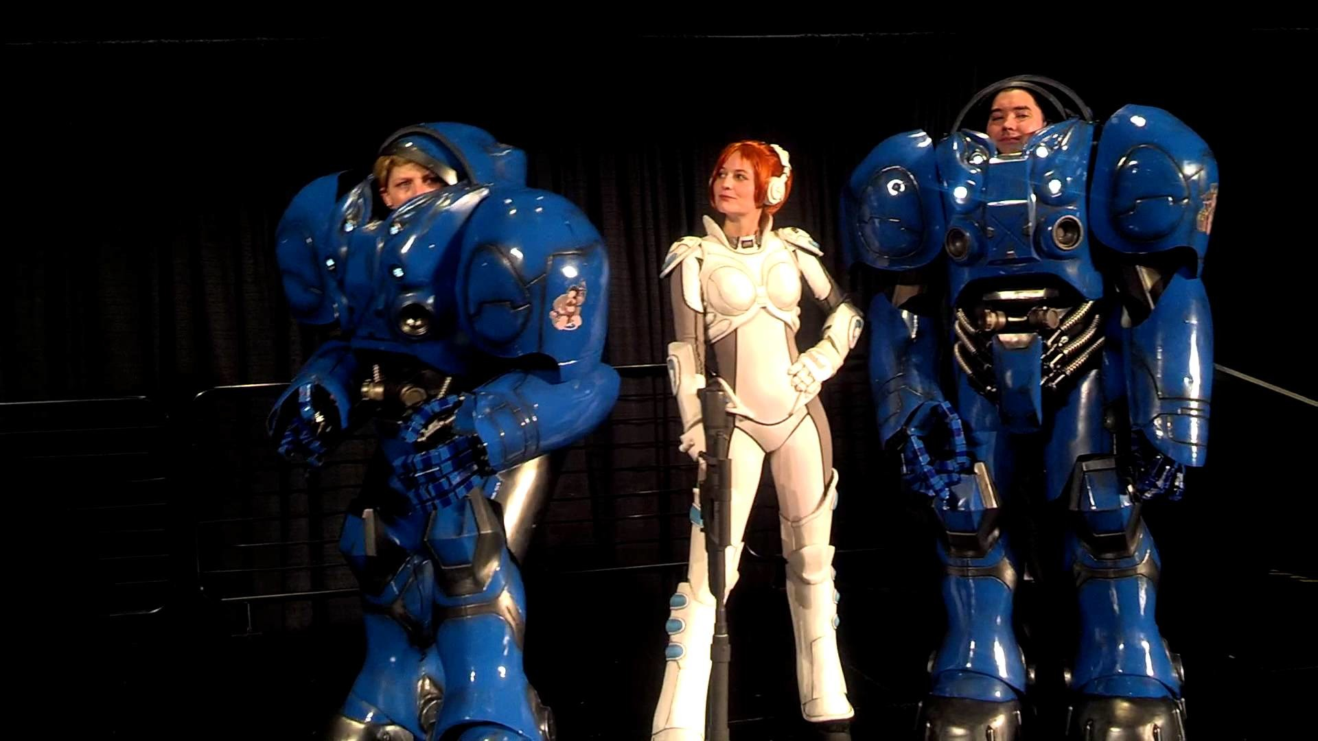 Res: 1920x1080, 2013 GenCon Costume Contest best-in-show: Human Space Marines and Ghost  Kerrigan - YouTube