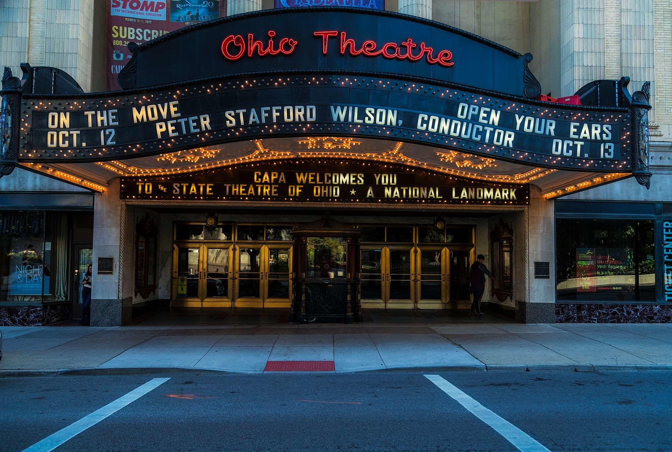 Res: 2200x1480, cinema, city, columbus, downtown, entertainment, entrance, front, hdr,  historic, landmark, lights, marquee, movies, ohio, ohio theatre, old,  theater, ...