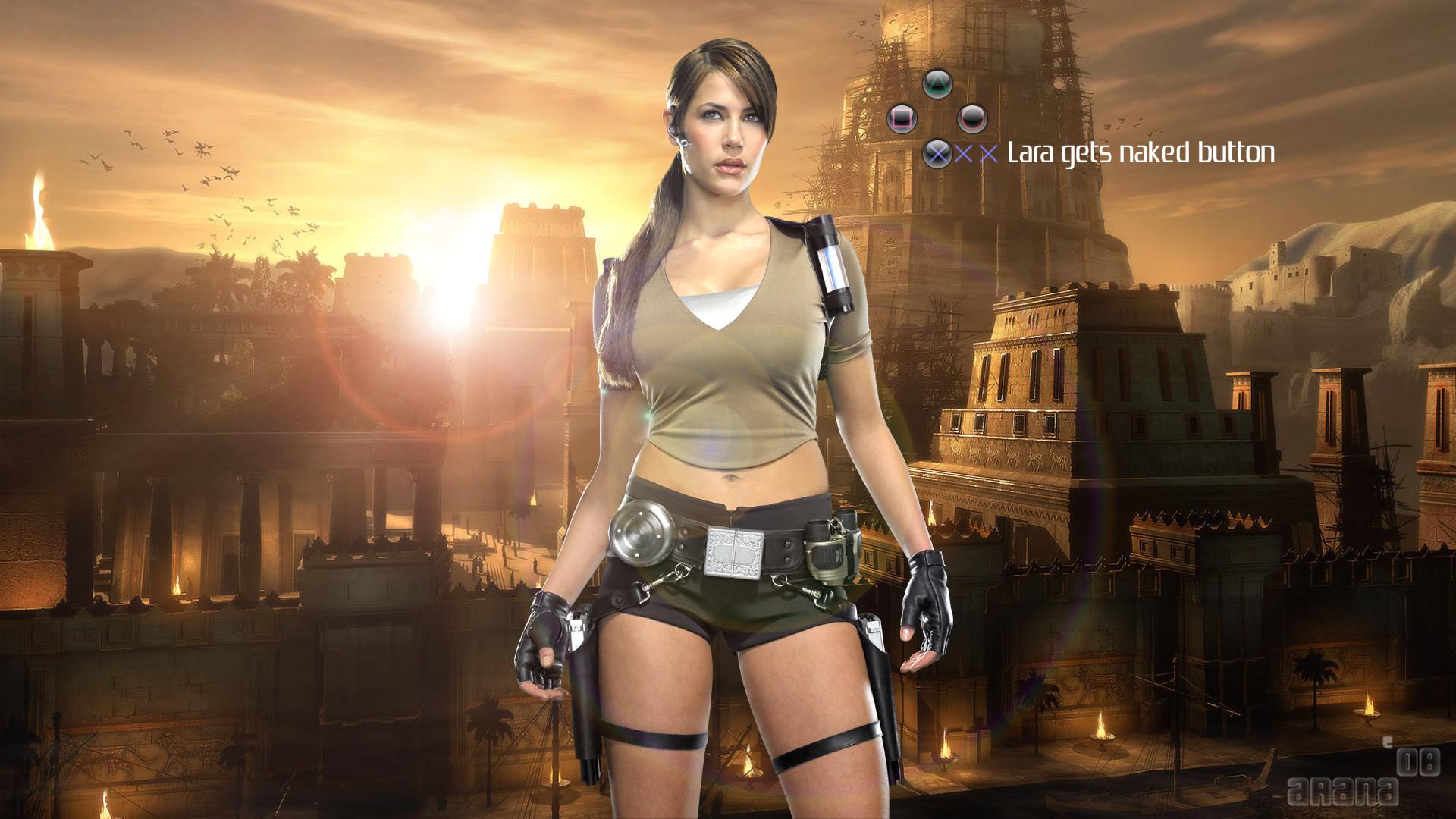 Res: 1920x1080, Lara Croft HDTV 1080p