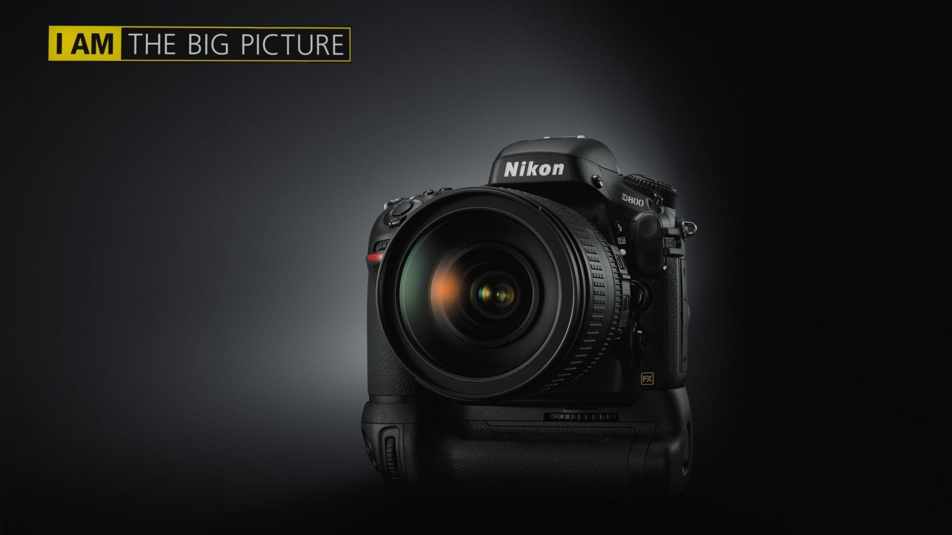 Res: 1920x1080, Nikon Wallpaper