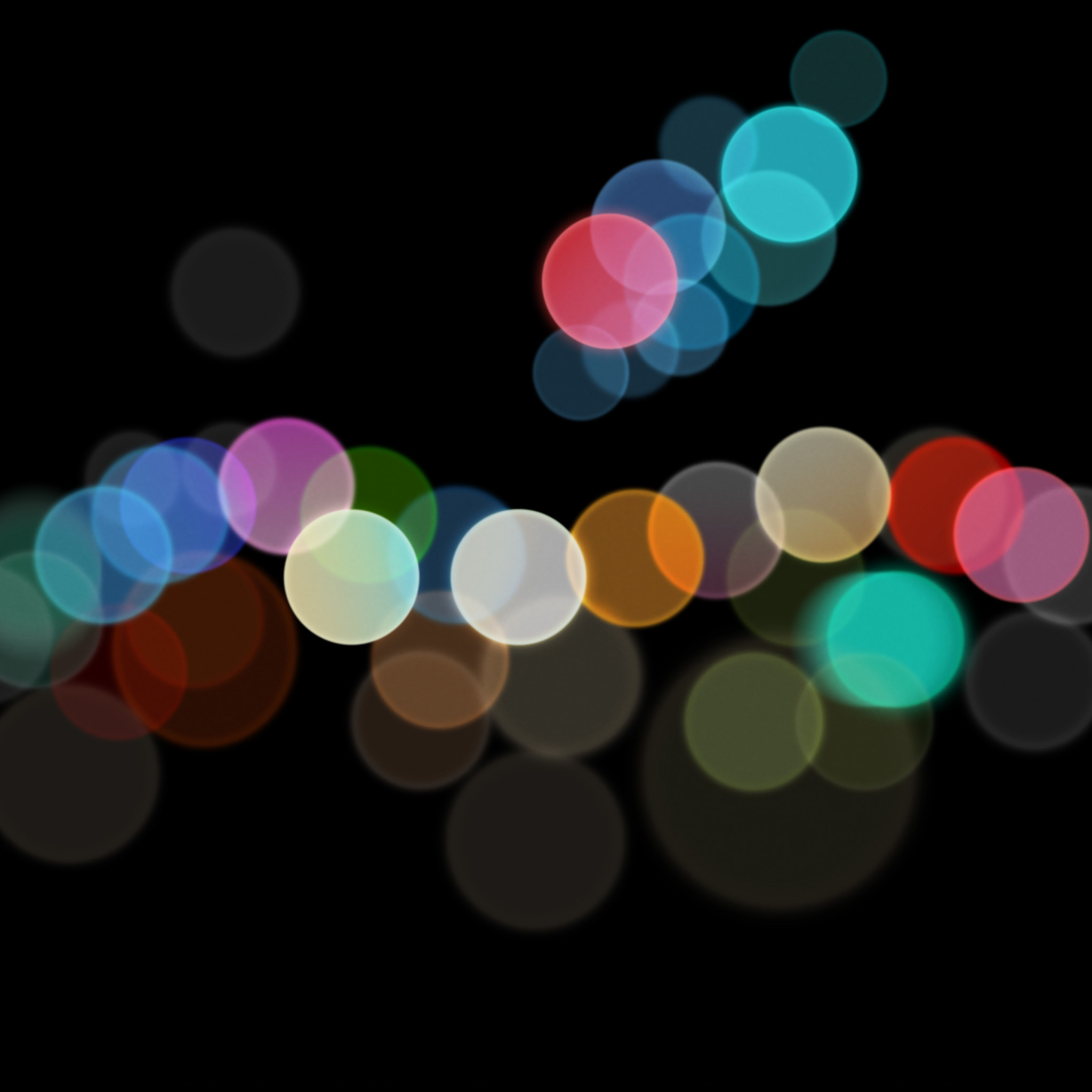 Res: 2048x2048, September 7 Apple event wallpapers