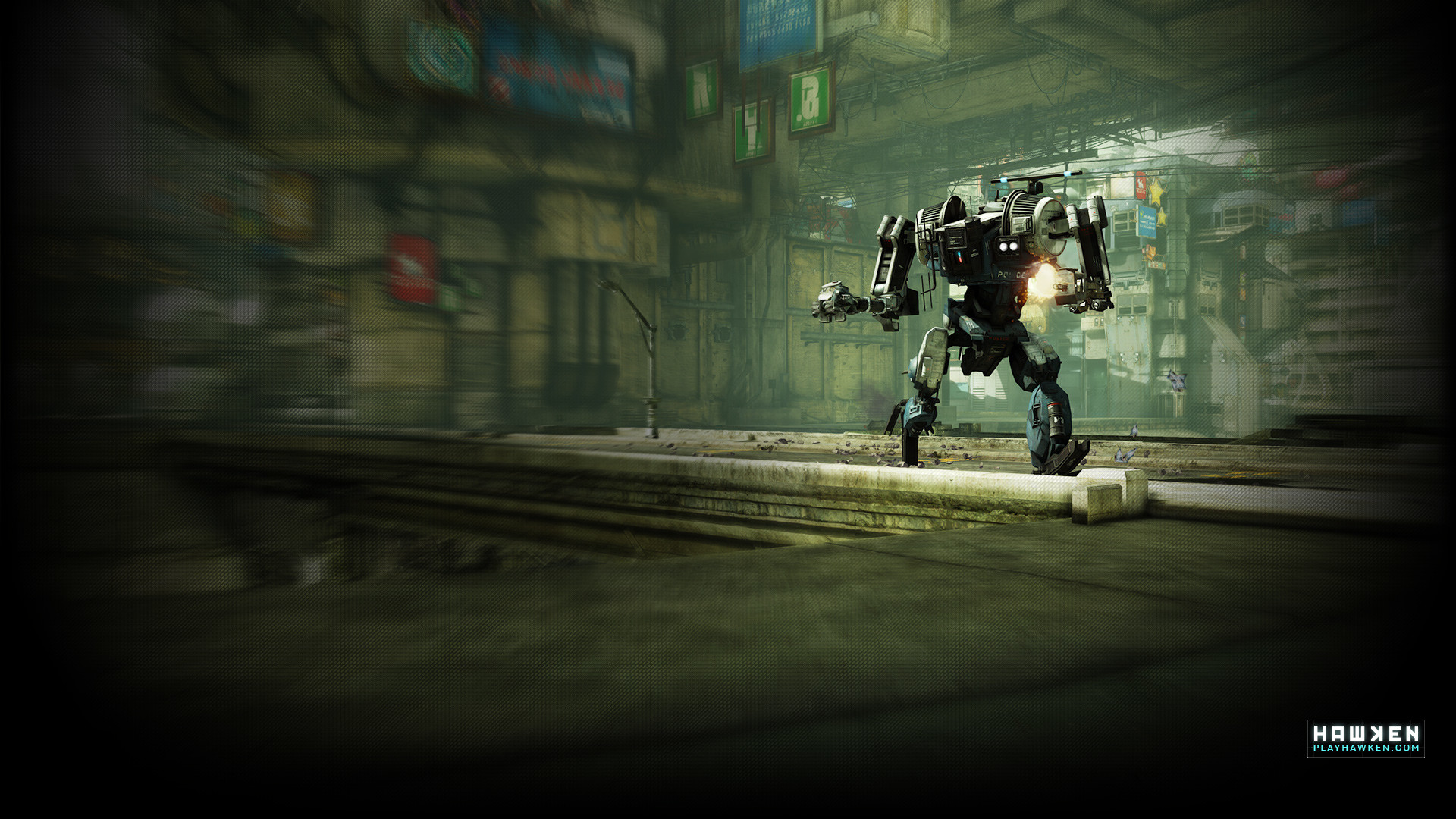 Res: 1920x1080, HAWKEN Wallpapers - Free-to-Play Multiplayer First-Person-Shooter - HAWKEN:  War is A Machine