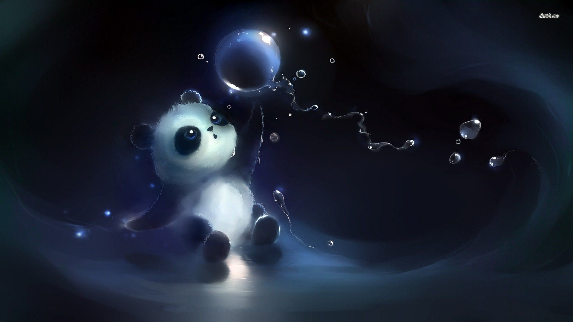 Res: 1920x1080, Anime Panda Desktop Wallpaper 07550 - Baltana