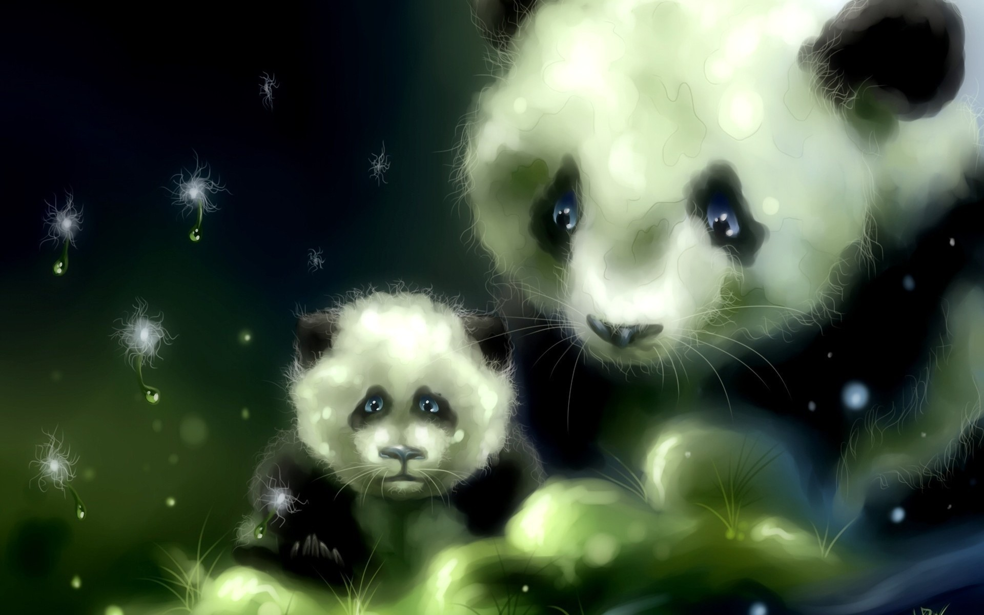 Res: 1920x1200, Panda Anime Desktop Wallpapers