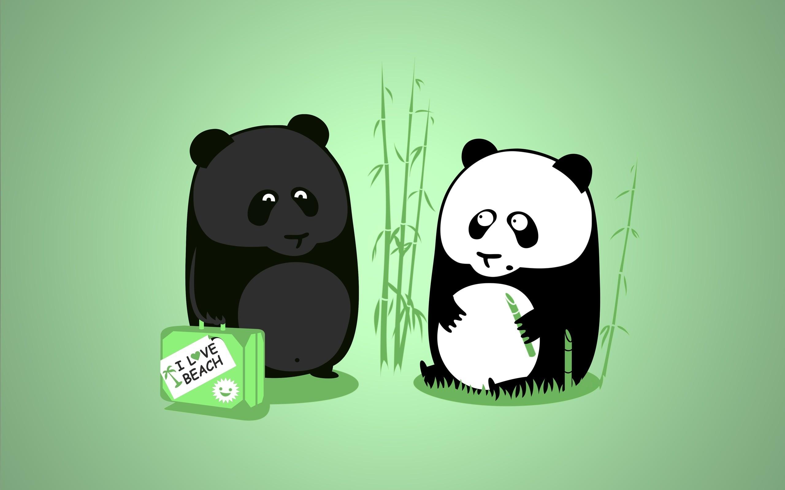 Res: 2560x1600, Tanned Panda Wallpaper
