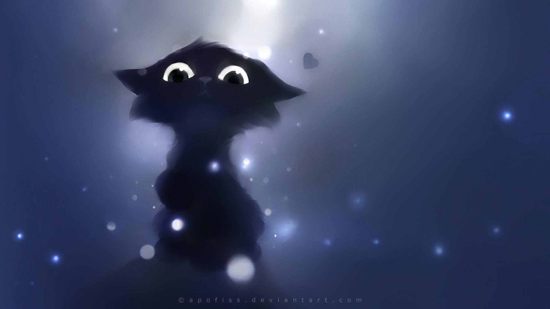 Res: 1920x1080, pictures of fantasy cats   cartoon cute animals fantasy eyes pov apofiss  cats kittens wallpaper .