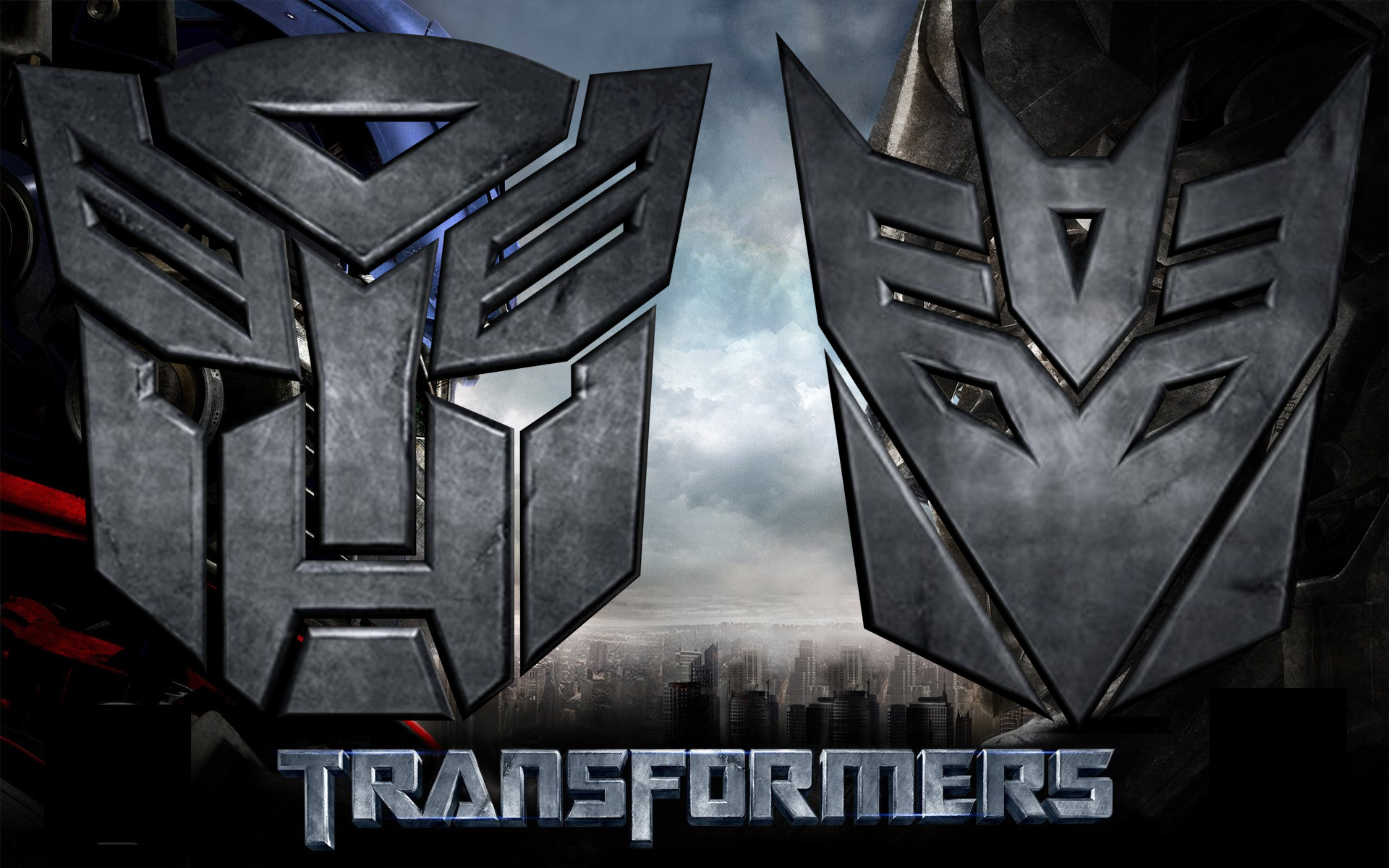 Res: 1920x1200, 3D Autobot and Decepticon Logo by td0615 ...