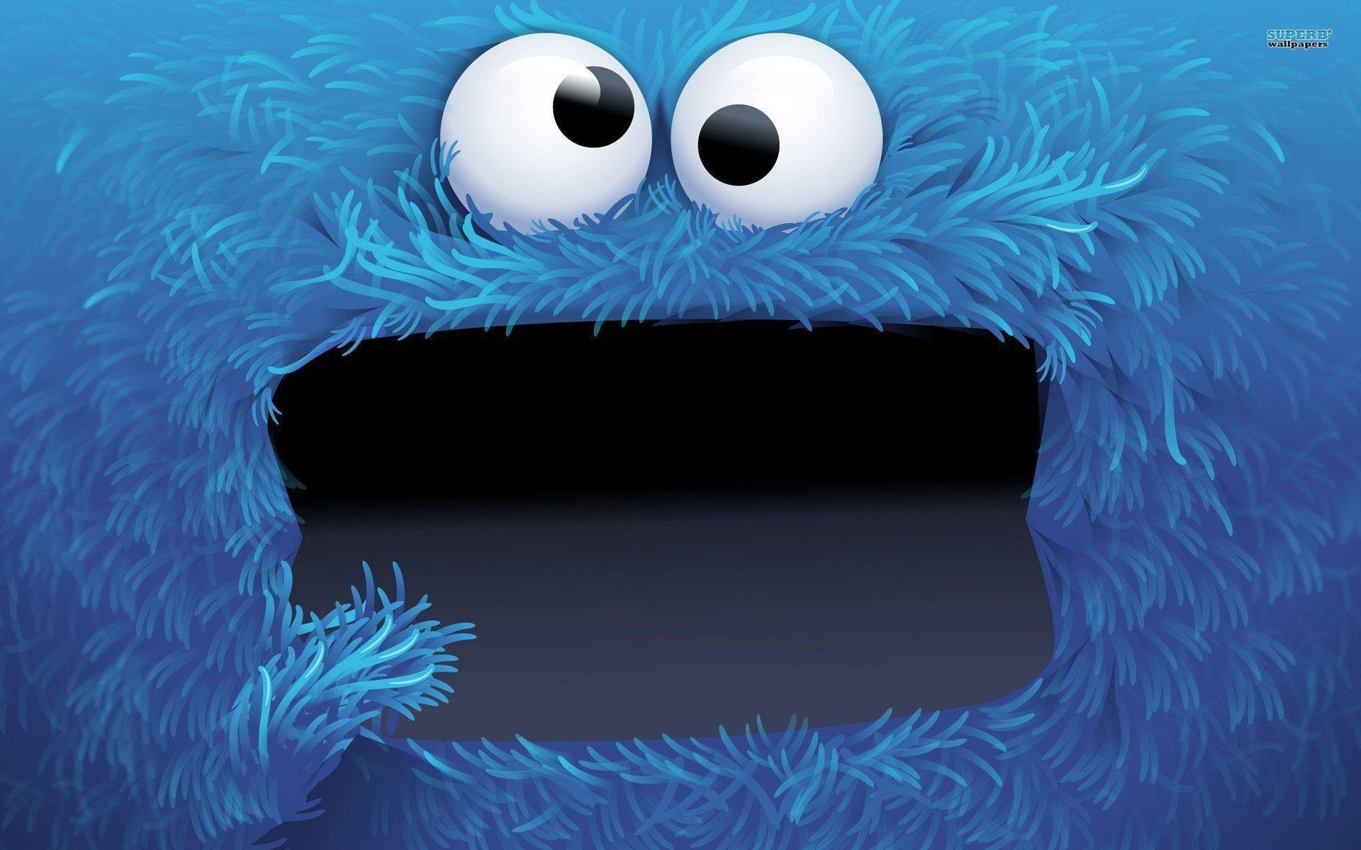 Res: 1920x1200, Cookie Monster Wallpaper 16789