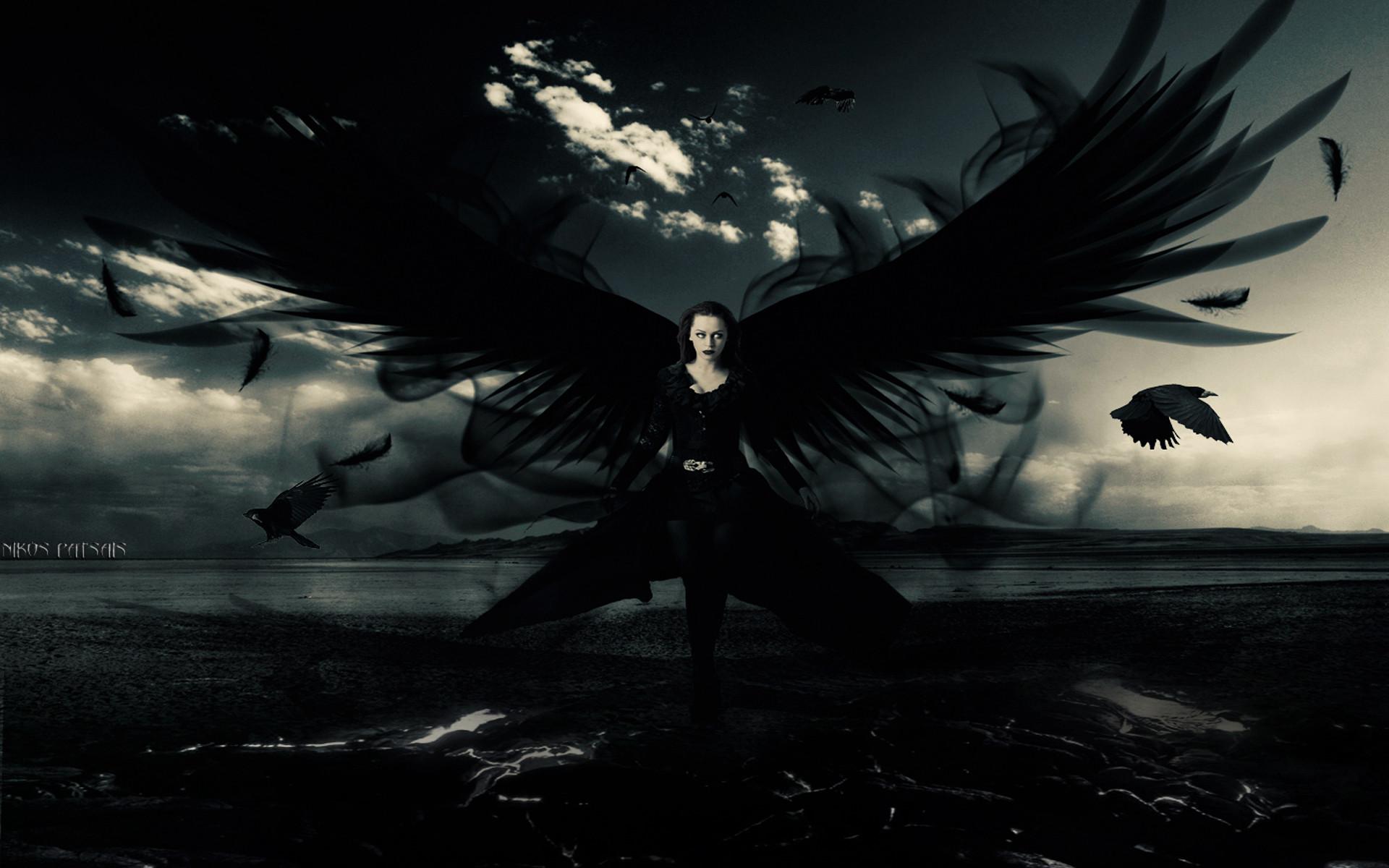 Res: 1920x1200, Previous: Dark angel ...
