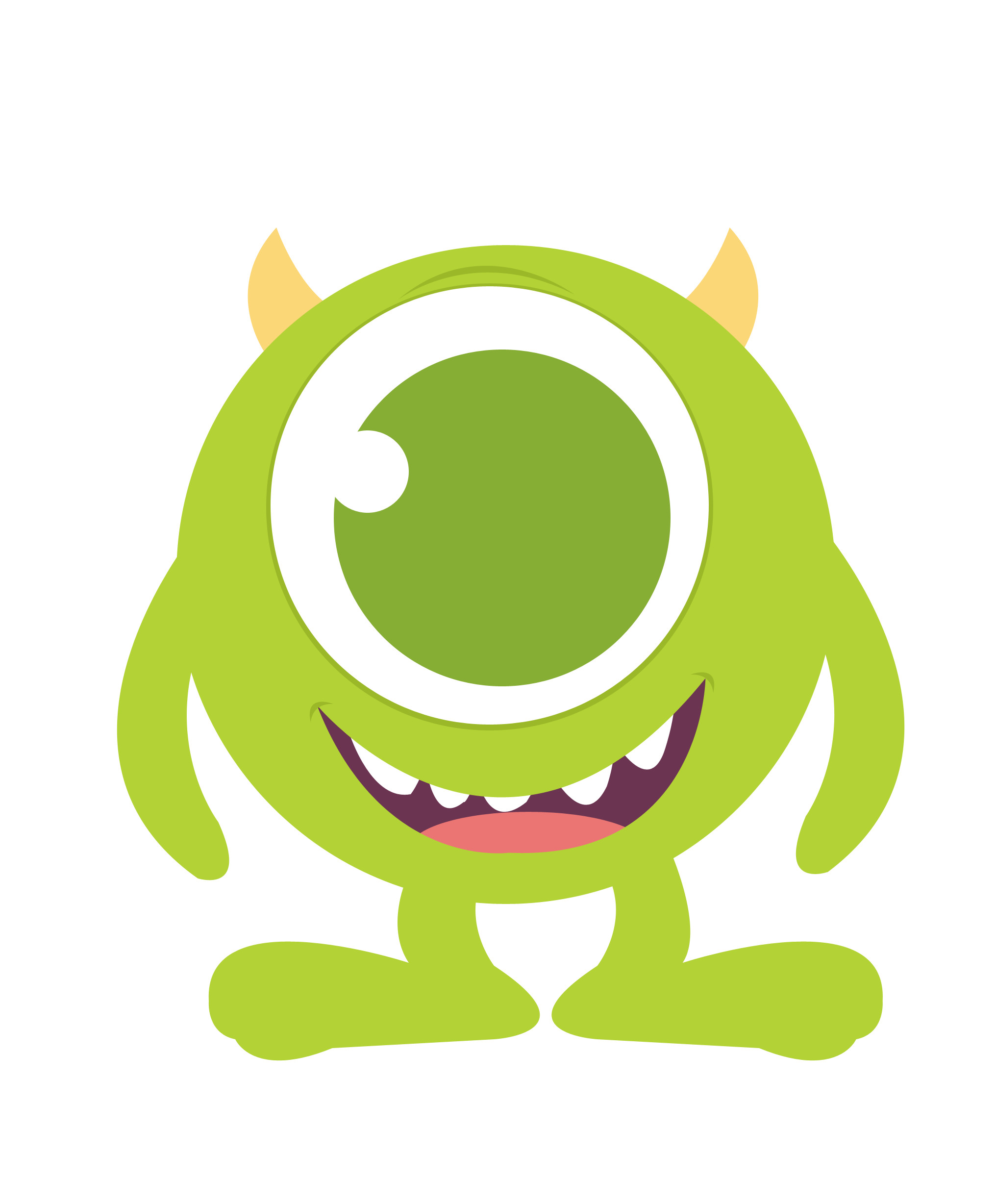 Res: 2032x2456,  Baby mike monster inc clipart