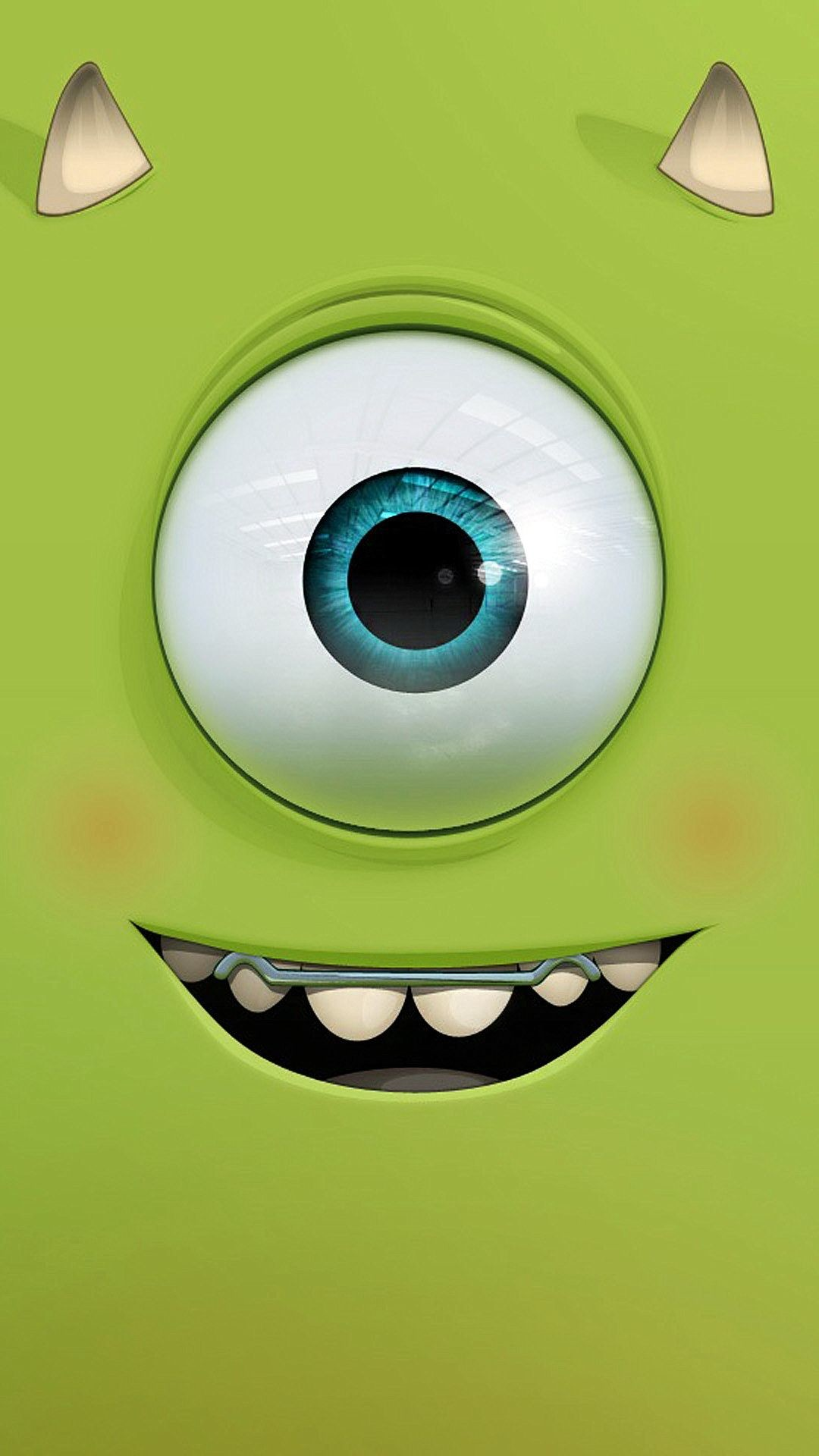 Res: 1080x1920, Funny cutie monster inc. - Tap to see more cute cartoon wallpapers! -  @mobile9