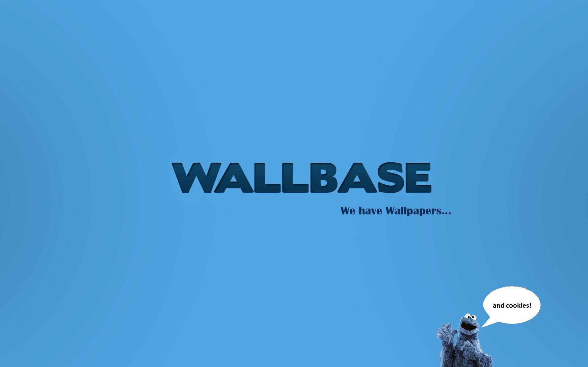 Res: 1920x1200, Minimalistic Cookie Monster Wallbase wallpaper |  | 237527 |  WallpaperUP