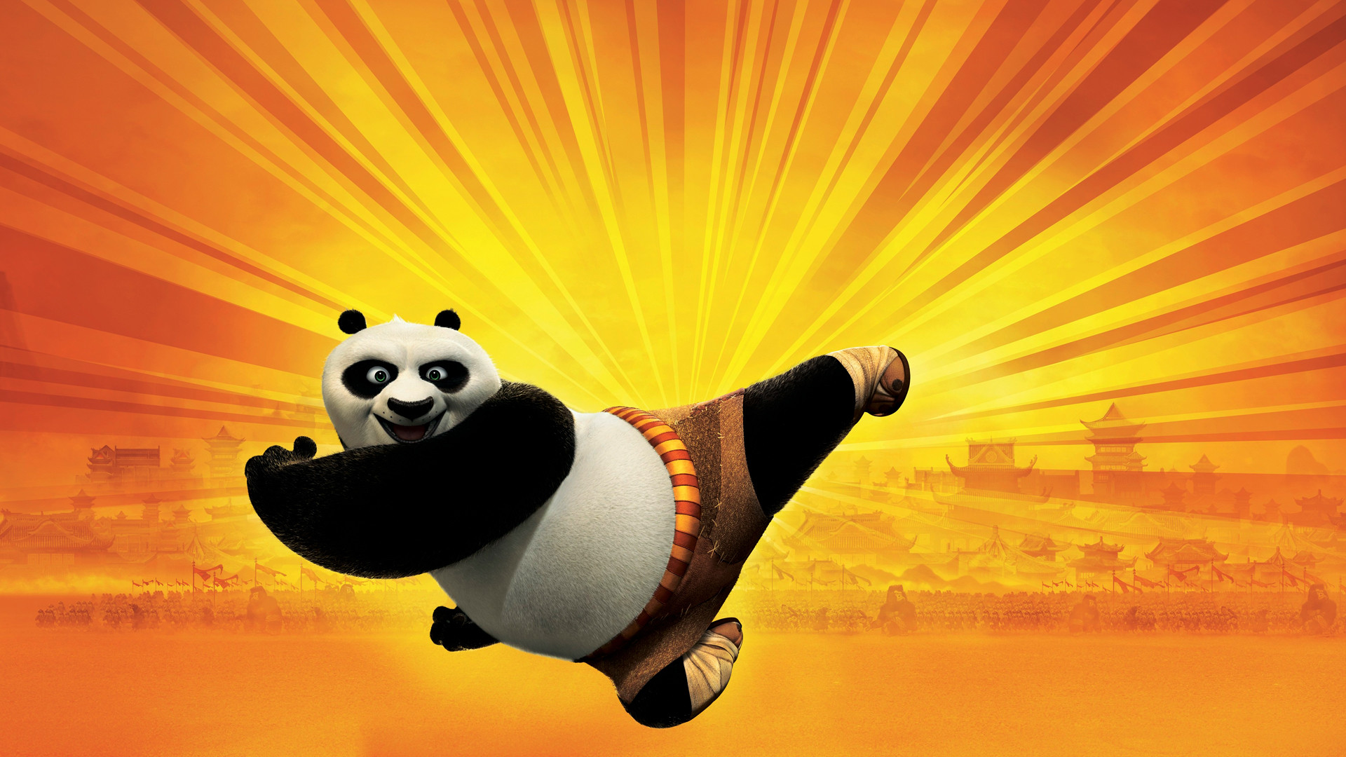 Res: 1920x1080, Kung Fu Panda Wallpaper 15287