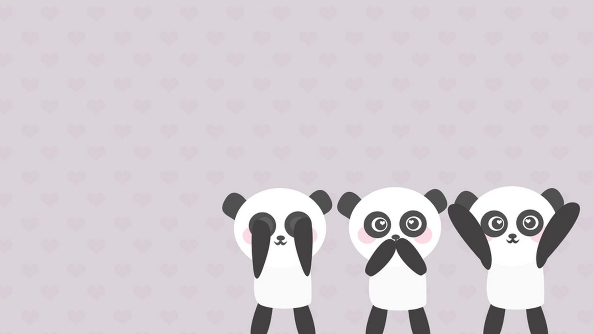 Res: 1920x1080, Cute Panda Wallpaper Cartoon