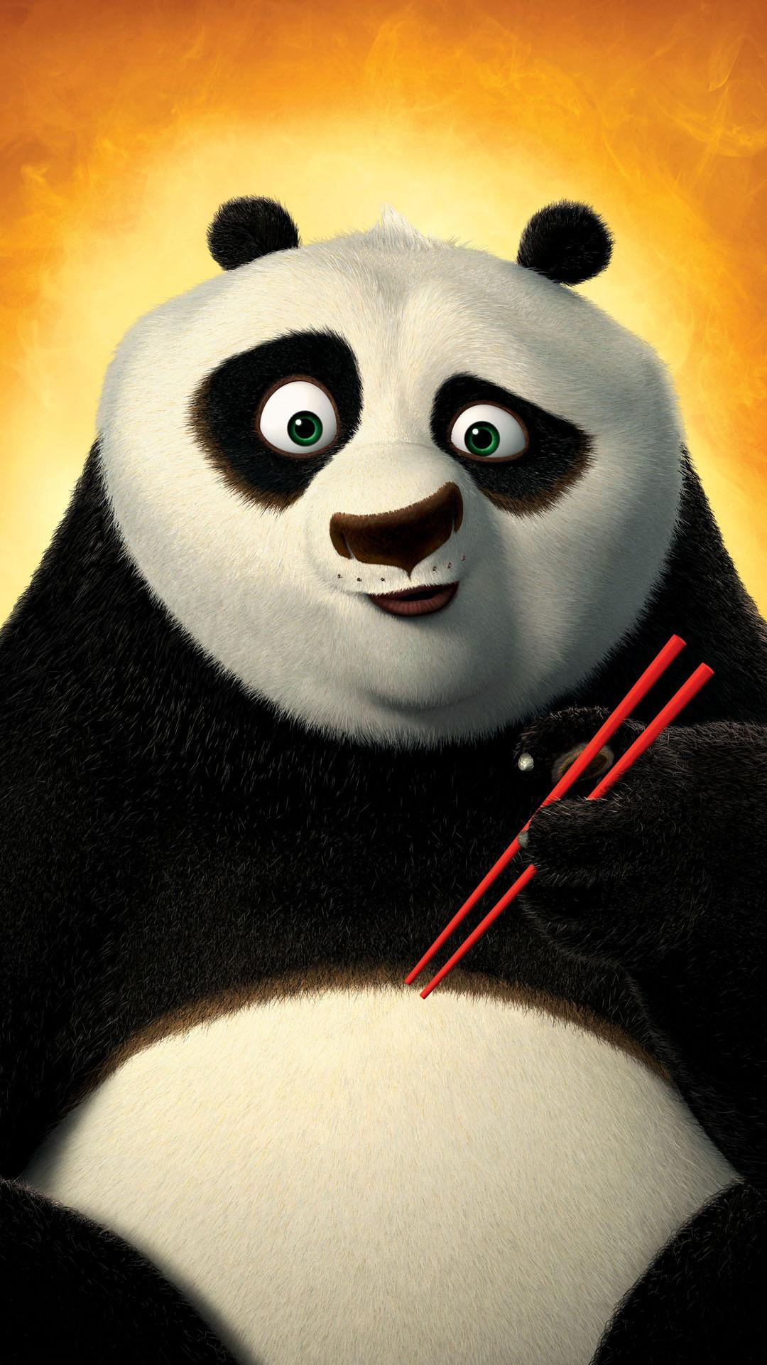Res: 1080x1920, Kung Fu Panda Android Wallpaper ...
