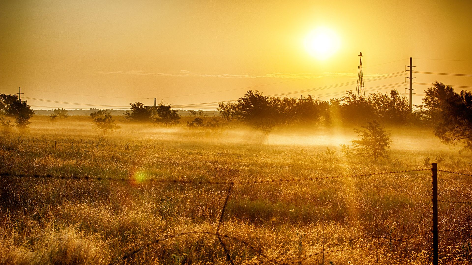Res: 1920x1080, country setting wallpaper | Country Sunrise HD Wallpaper - HD Wallpapers