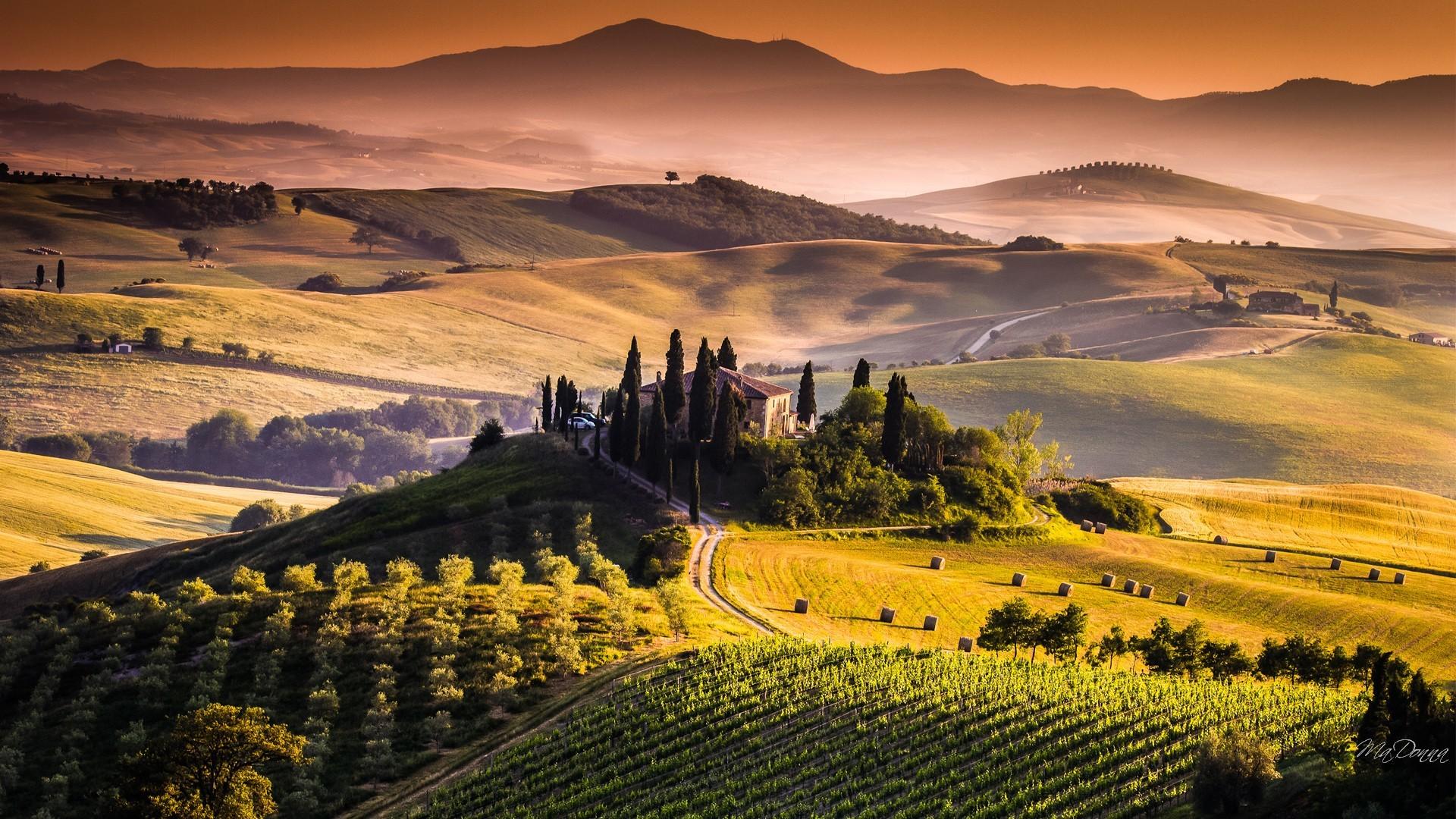 Res: 1920x1080, Tuscany Desktop Wallpaper
