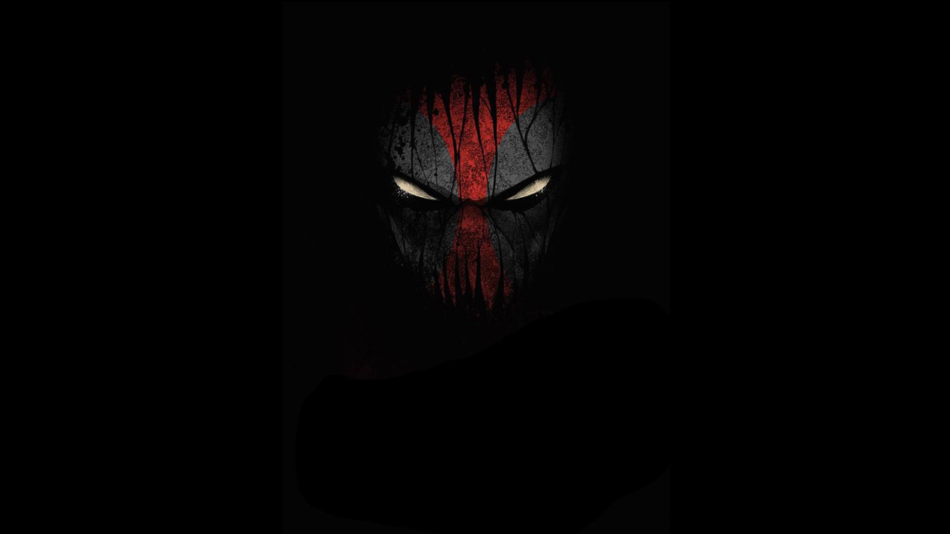 Res: 1920x1080, Deadpool Face HD. Â«Â«