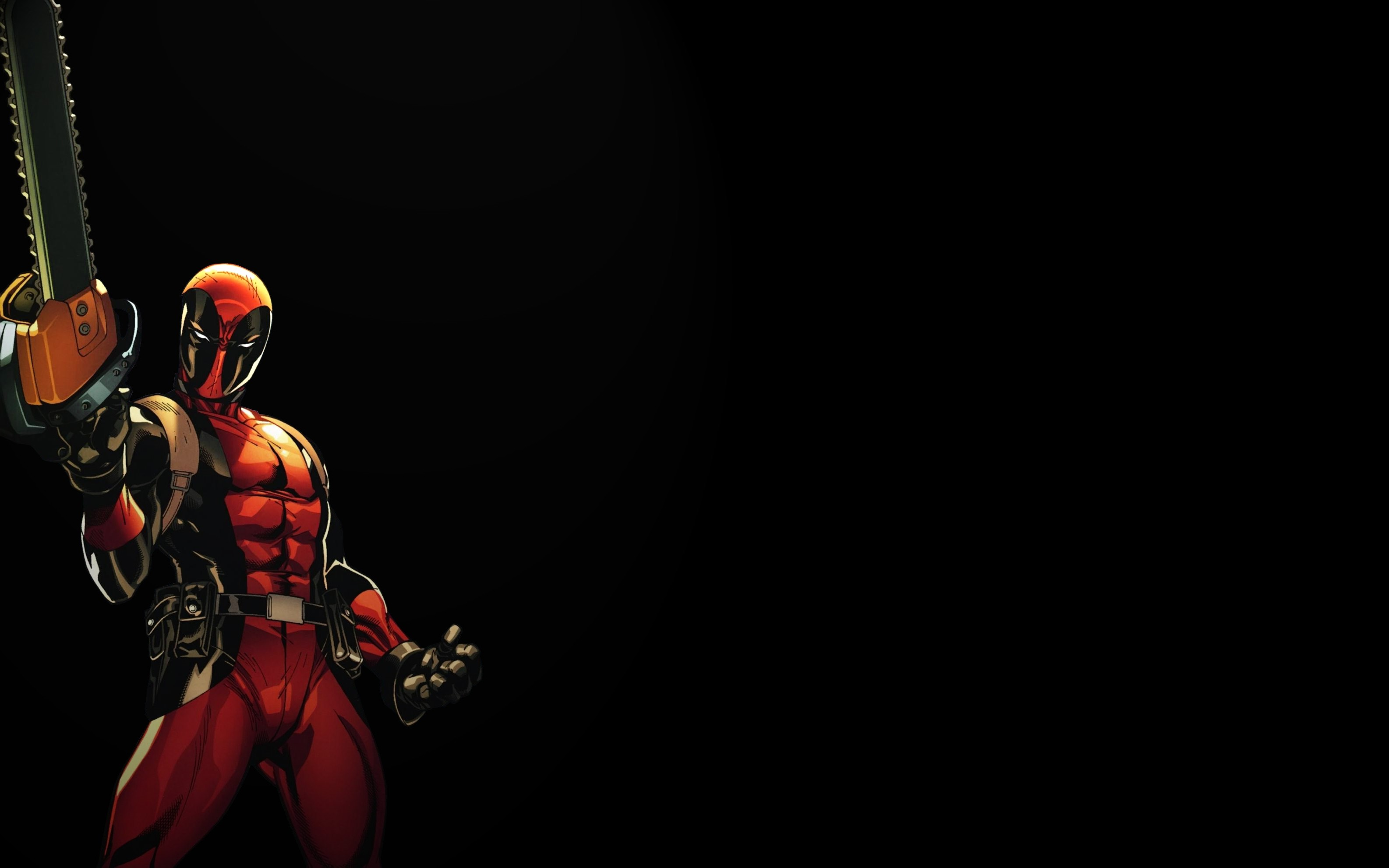 Res: 3171x1982, Deadpool Background for laptop.