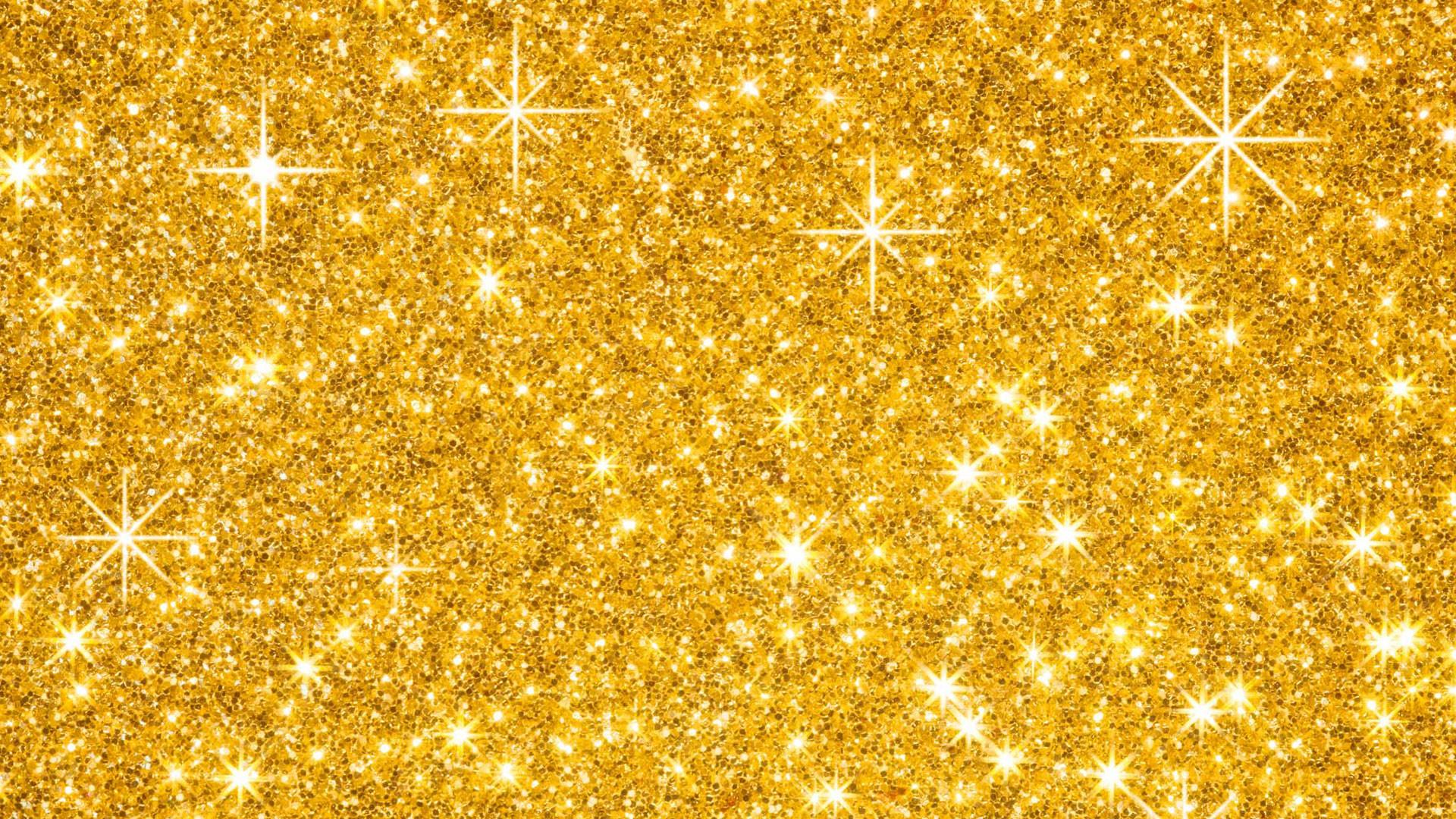 Res: 1920x1080, Abstrakt - Glitter Abstrakt Gold Wallpaper