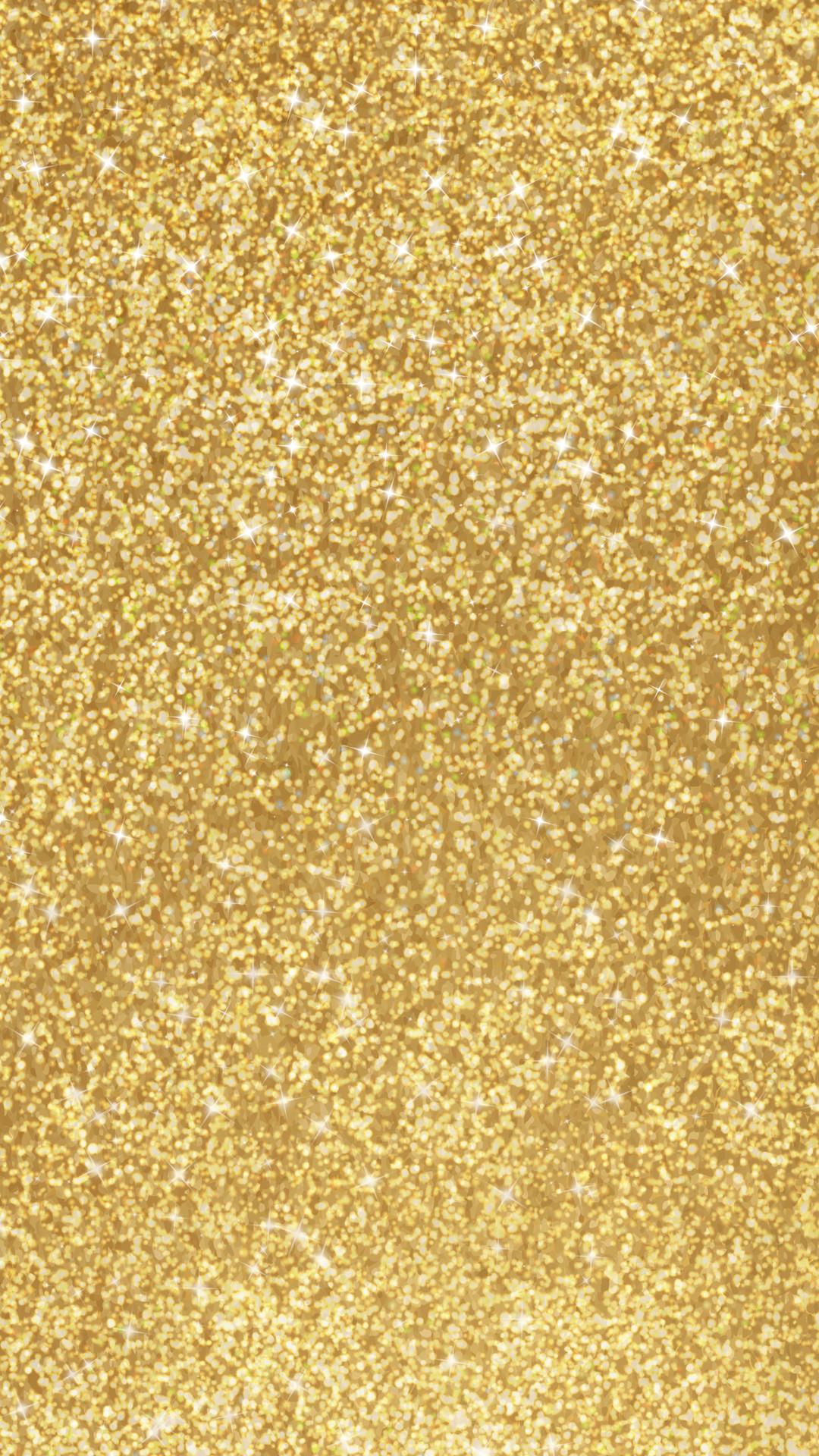 Res: 1080x1920, Gold Glitter Phone Wallpaper