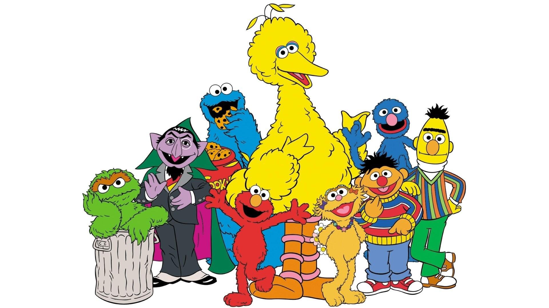 Res: 1920x1080, TV Show - Sesame Street Big Bird Bert (Sesame Street) Ernie (Sesame Street