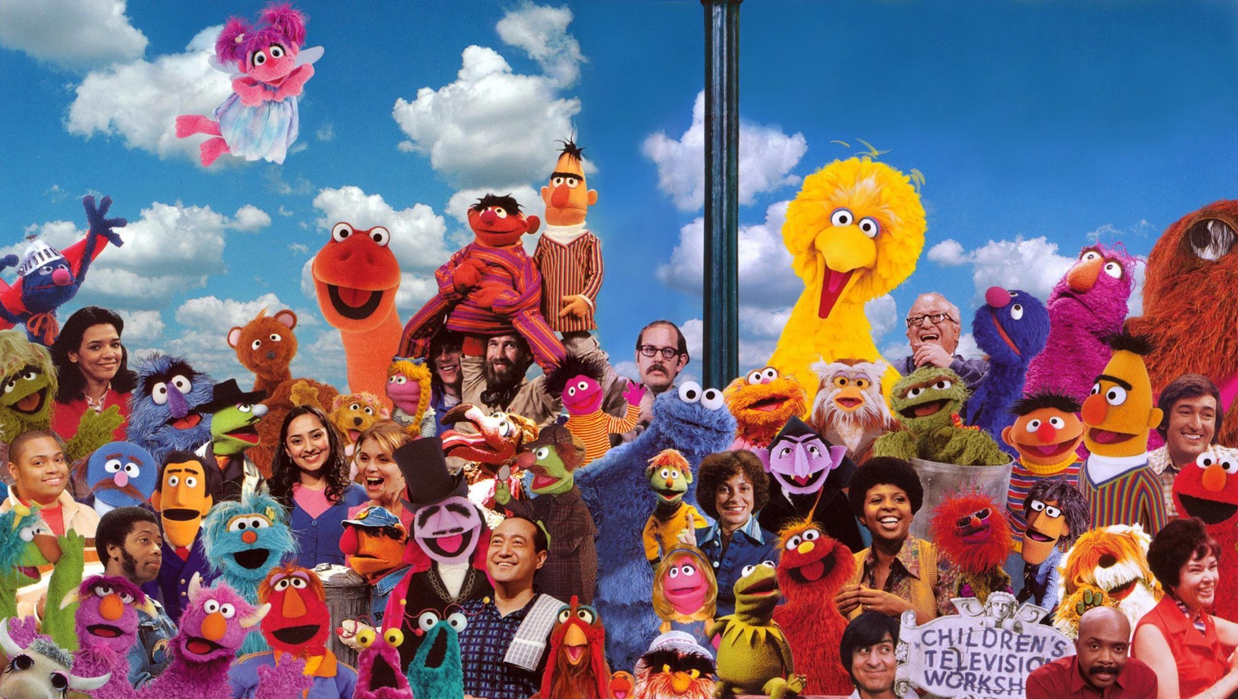 """Res: 2552x1442, Wallpaper for """"Sesame Street"""" ..."""