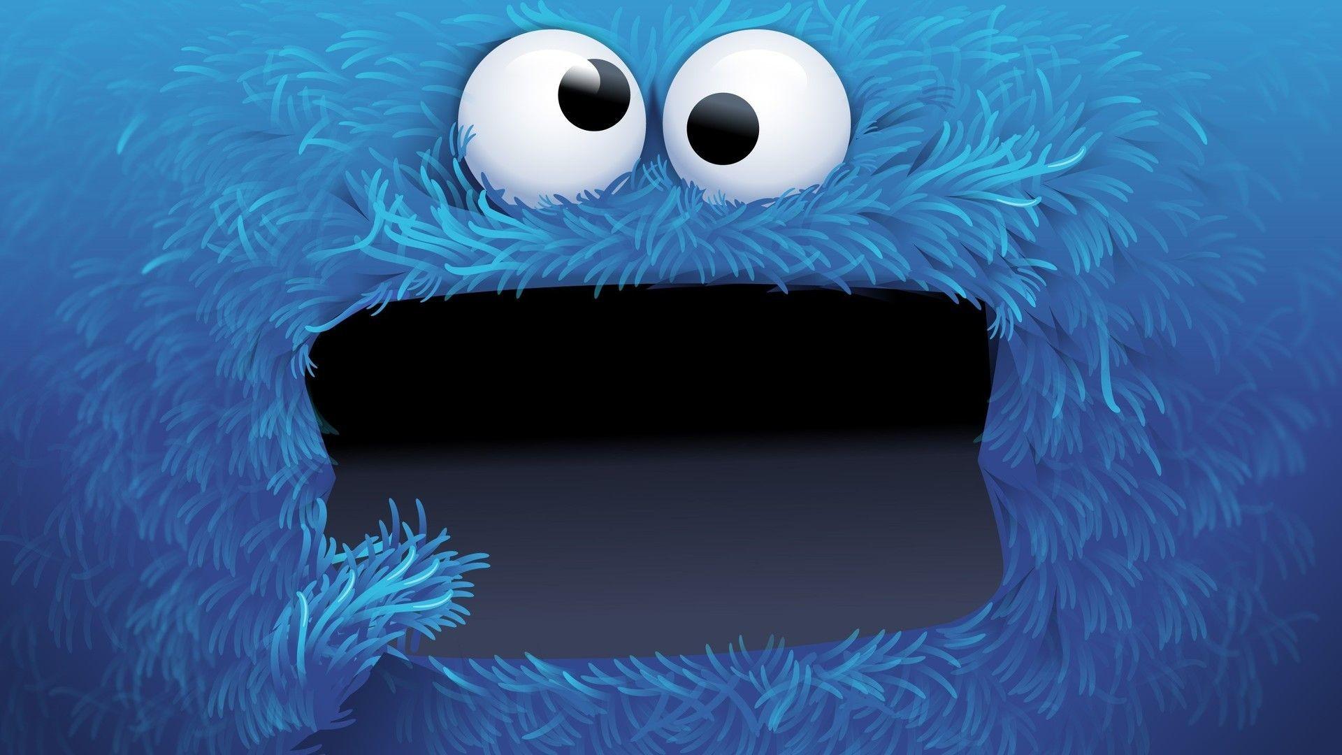 Res: 1920x1080, Sesame Street Screensaver | Cookie Monster HD Wallpaper - WallpaperSafari