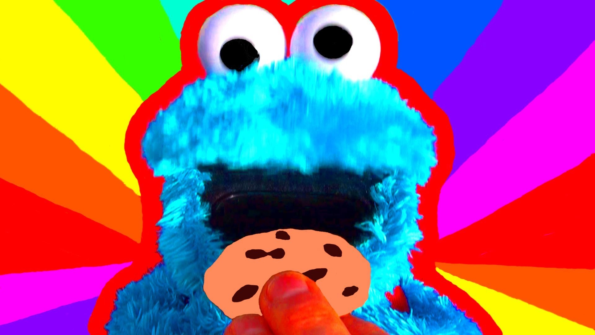 Res: 1920x1080, Cookie Monster Count N Crunch Toy Review - Cookie Monster Eats Cookies with  Ernie Sesame Street Toys - YouTube
