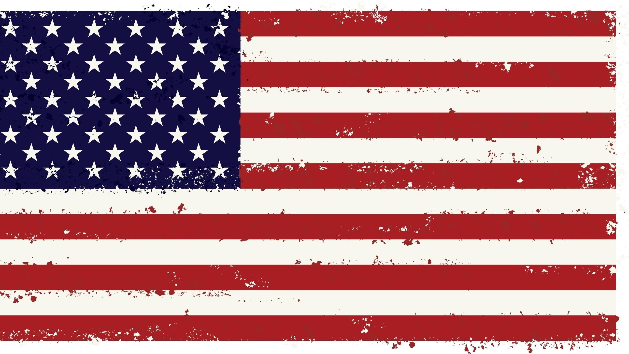 Res: 2560x1440, Add media Report RSS USA Flag Wallpaper (view original)