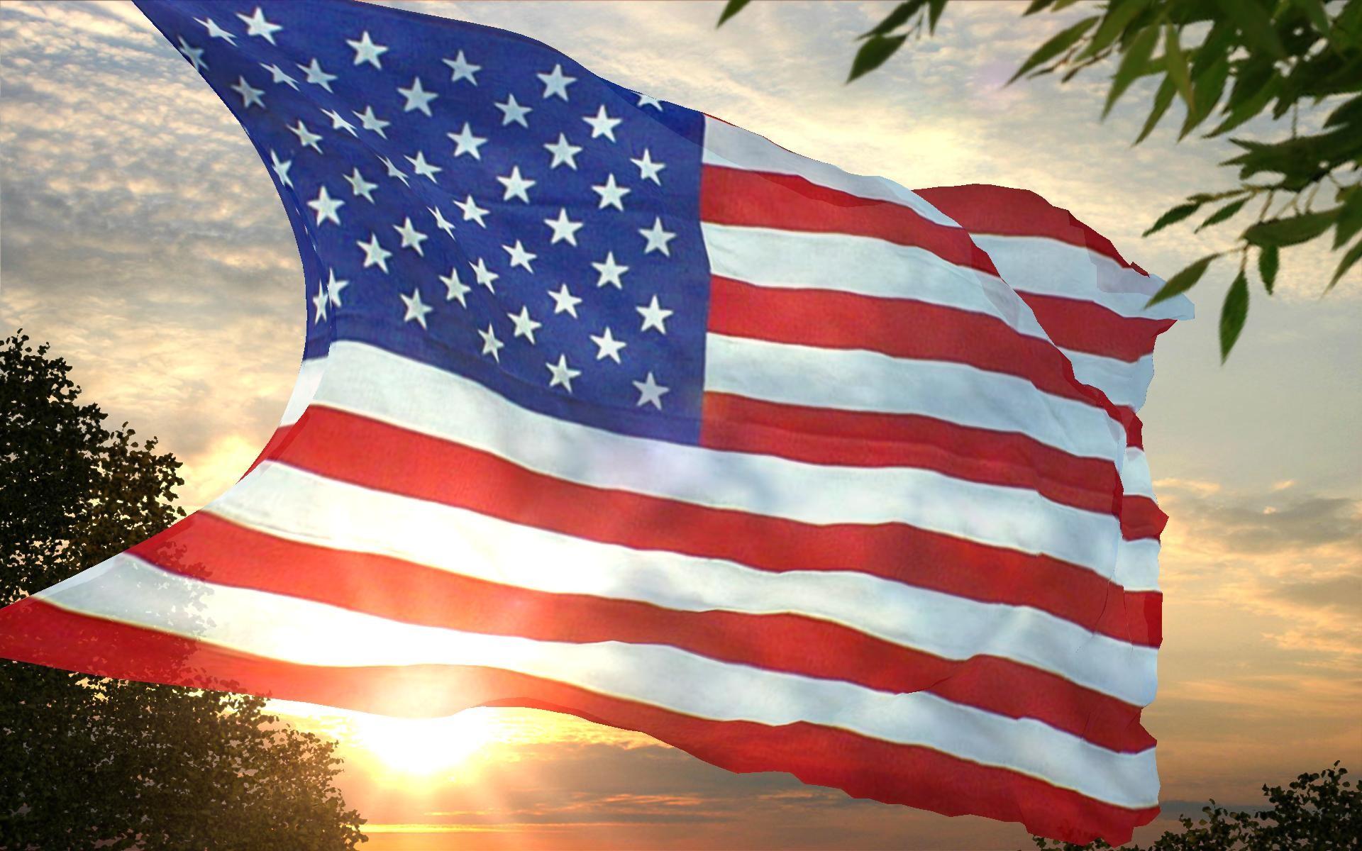 Res: 1920x1200, USA American Flag Wallpaper