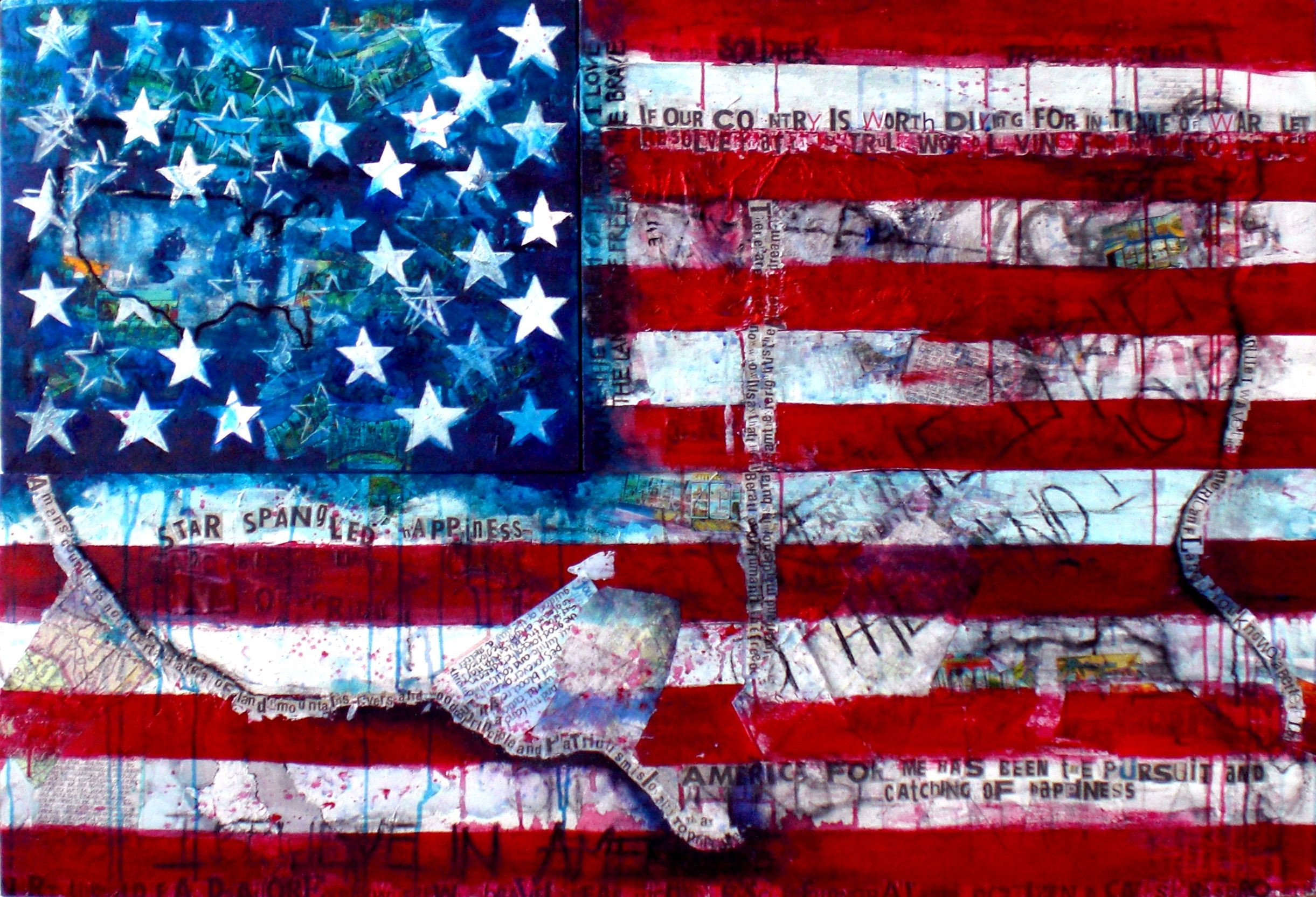 Res: 2442x1665, USA flag art backgrounds