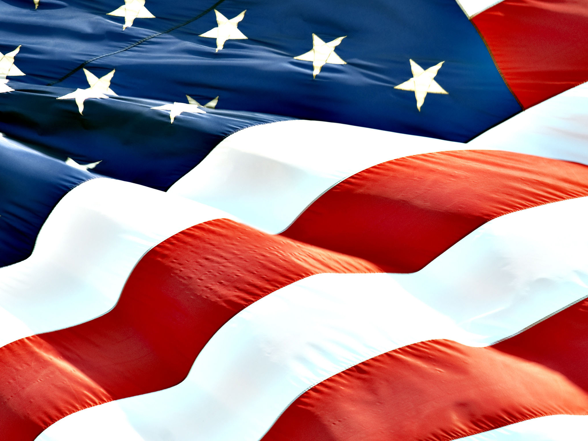 Res: 2048x1536, ... American Flag Free Wallpaper. High Quality Image of American Flag ›   px ...